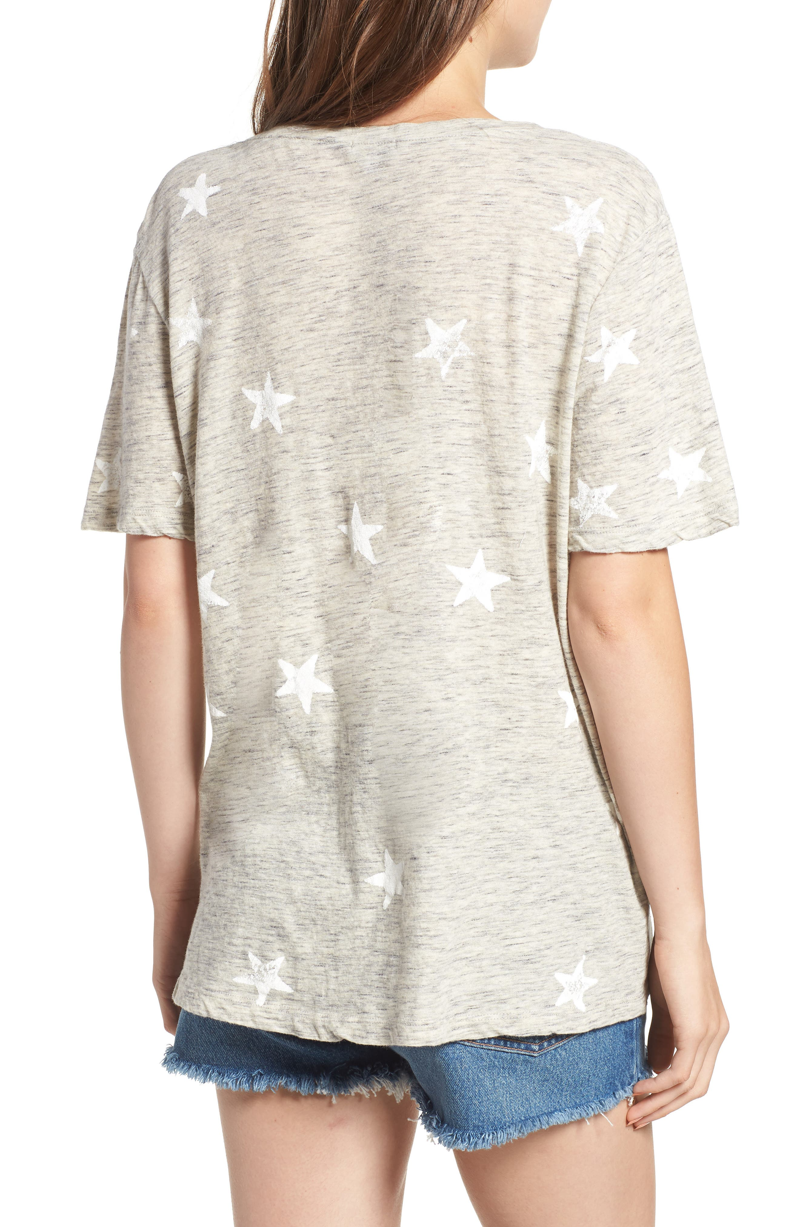 Star Tee,                             Alternate thumbnail 2, color,                             020
