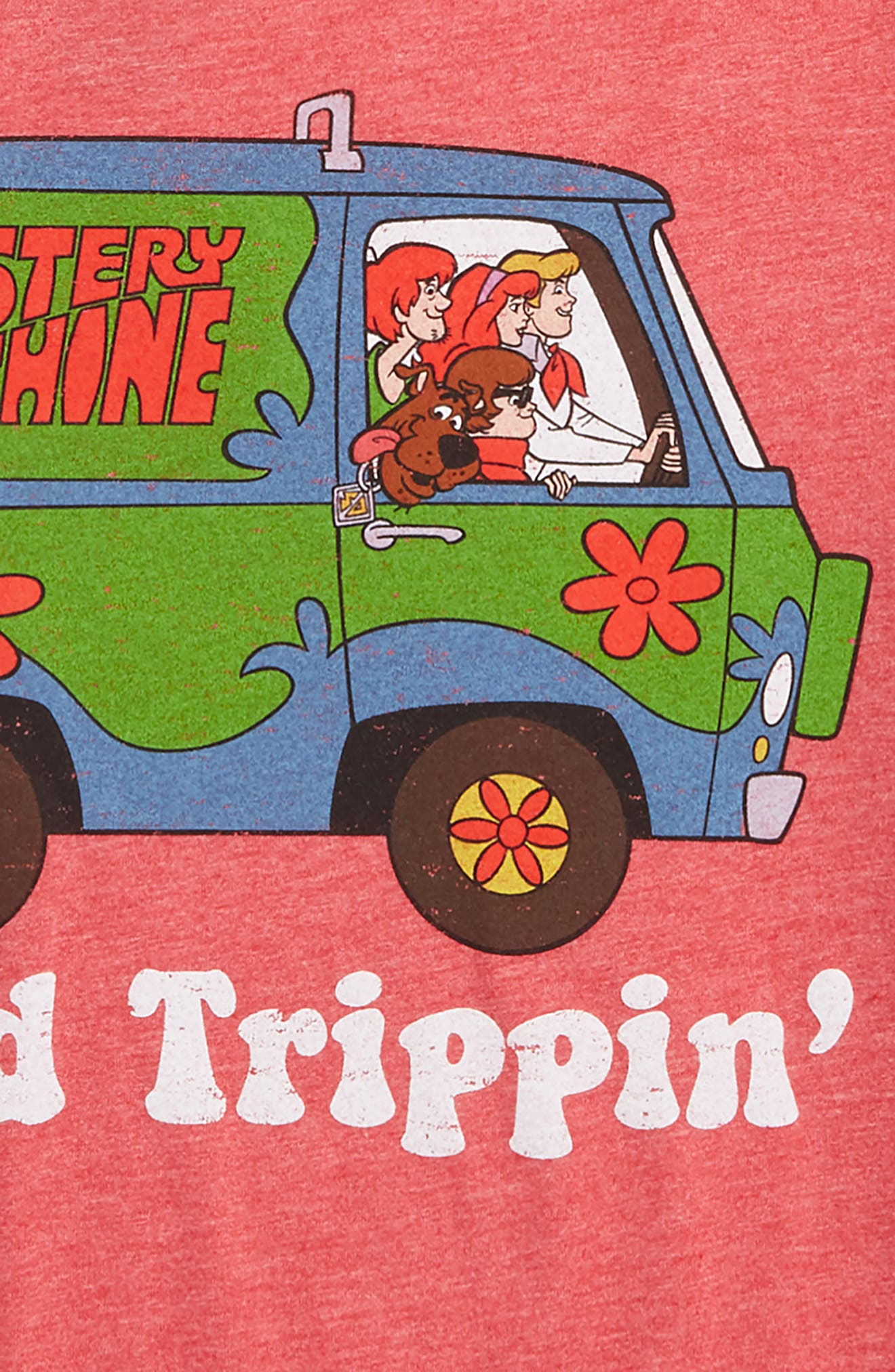 Scooby Doo<sup>™</sup> Road Trippin' Graphic T-Shirt,                             Alternate thumbnail 2, color,                             625