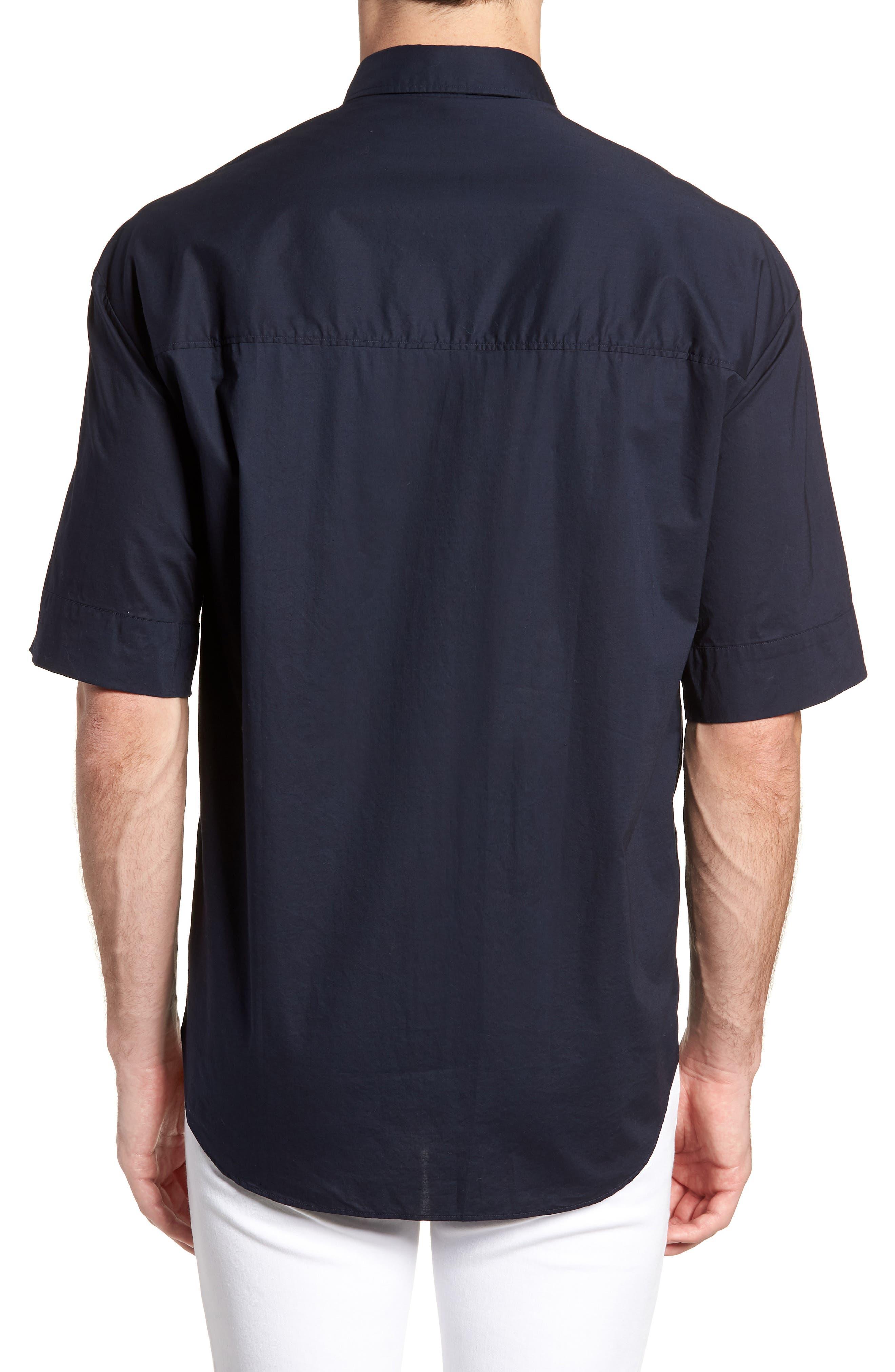 Eynold Oversized Short Sleeve Sport Shirt,                             Alternate thumbnail 2, color,                             413