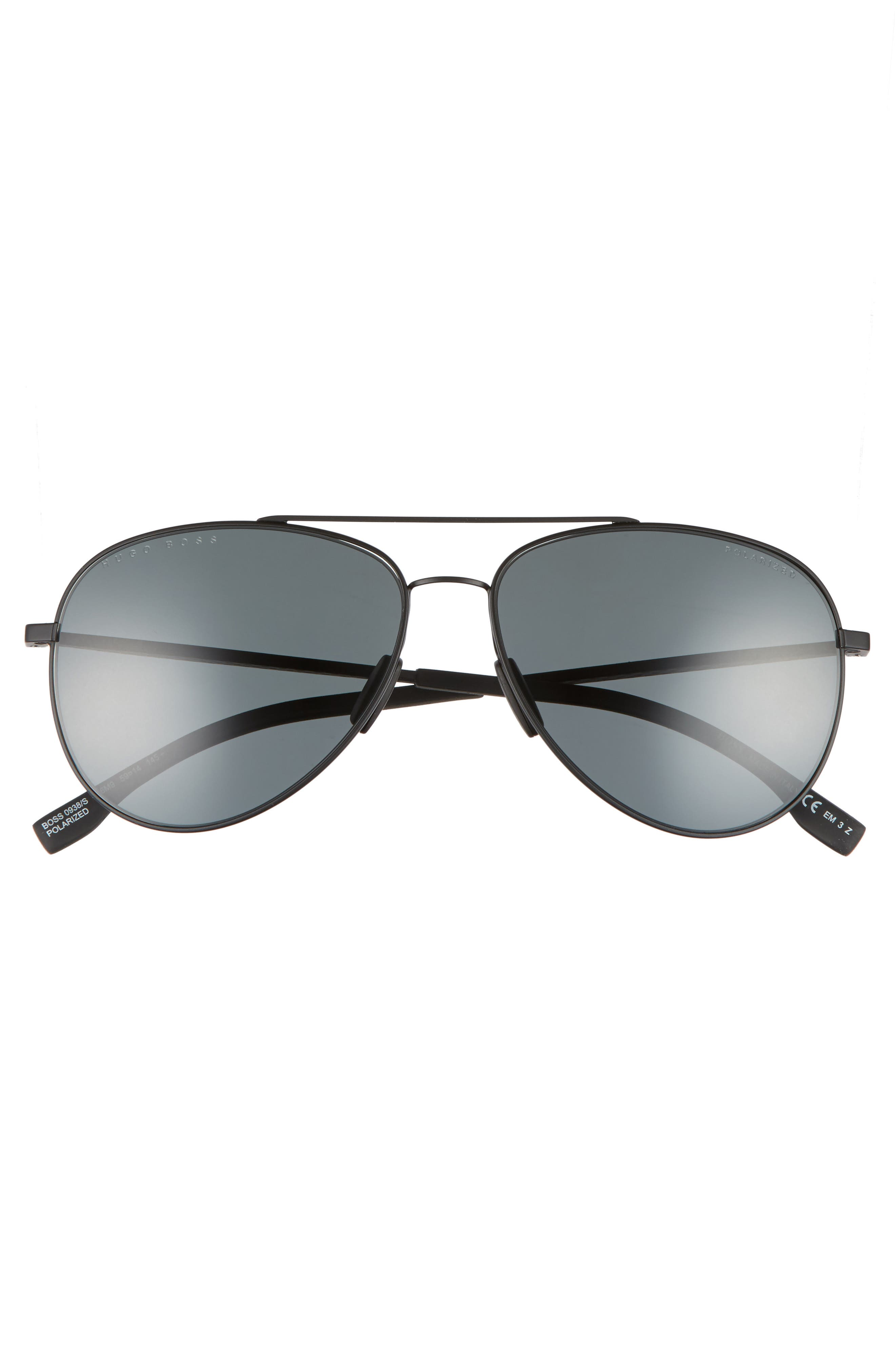 59mm Aviator Sunglasses,                             Alternate thumbnail 2, color,                             003