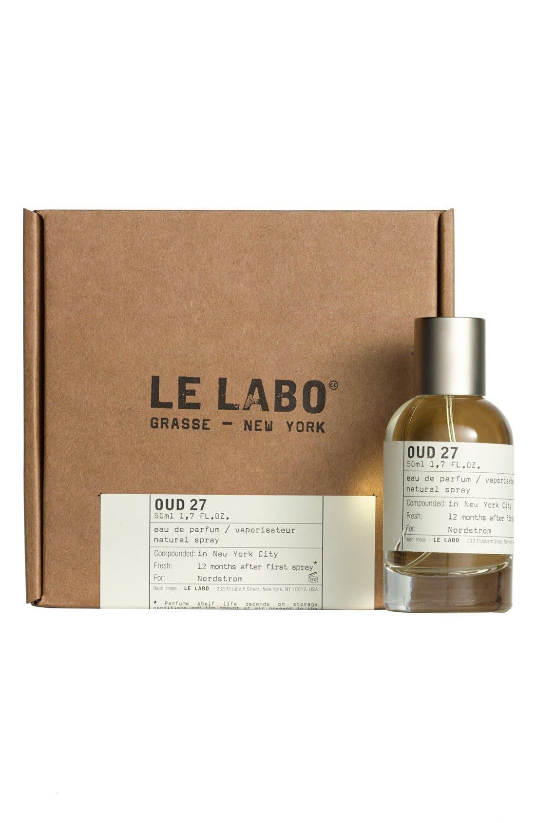 'Oud 27' Eau de Parfum,                             Alternate thumbnail 6, color,                             000