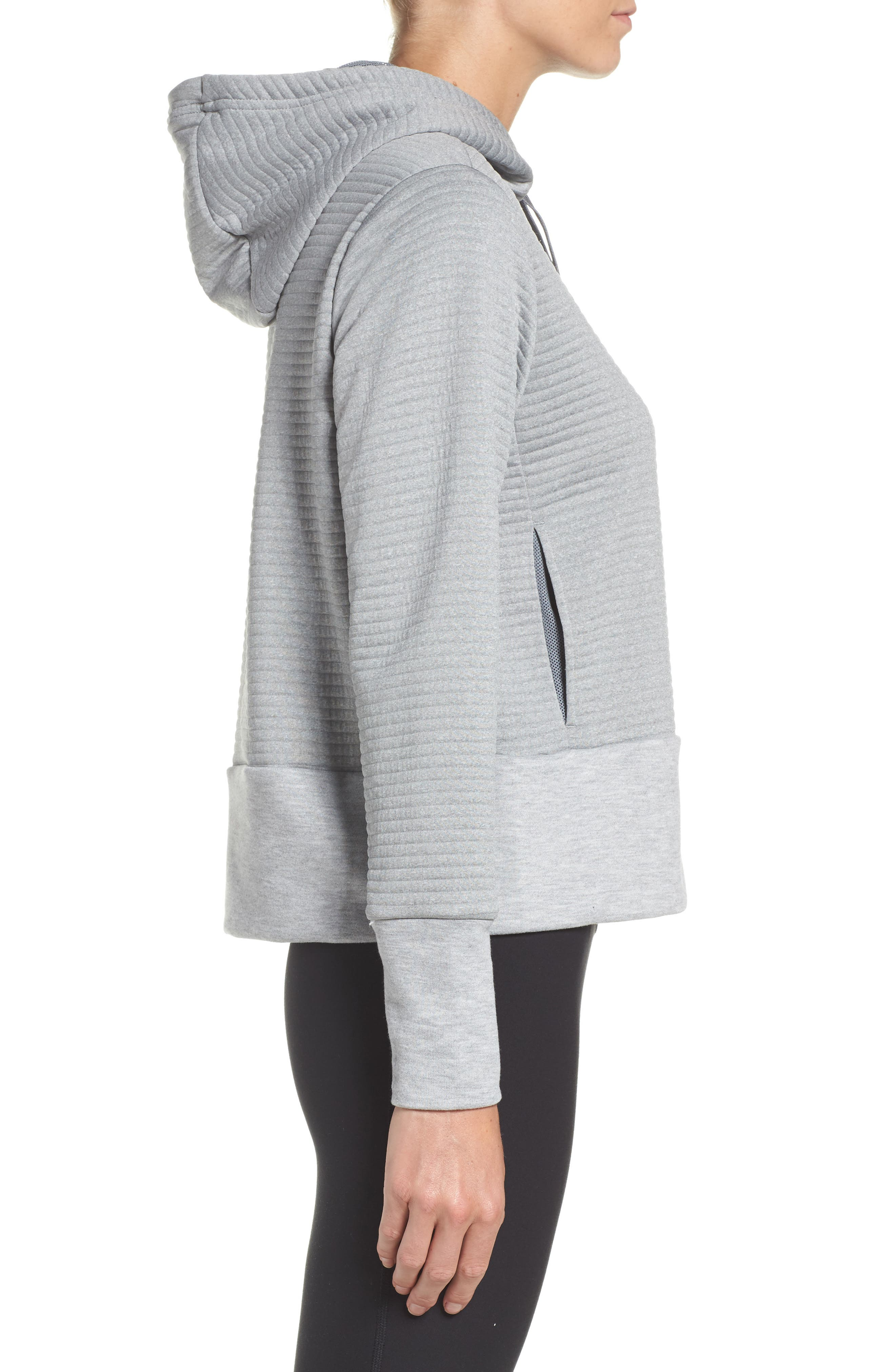 Dry Ribbed Hoodie,                             Alternate thumbnail 7, color,