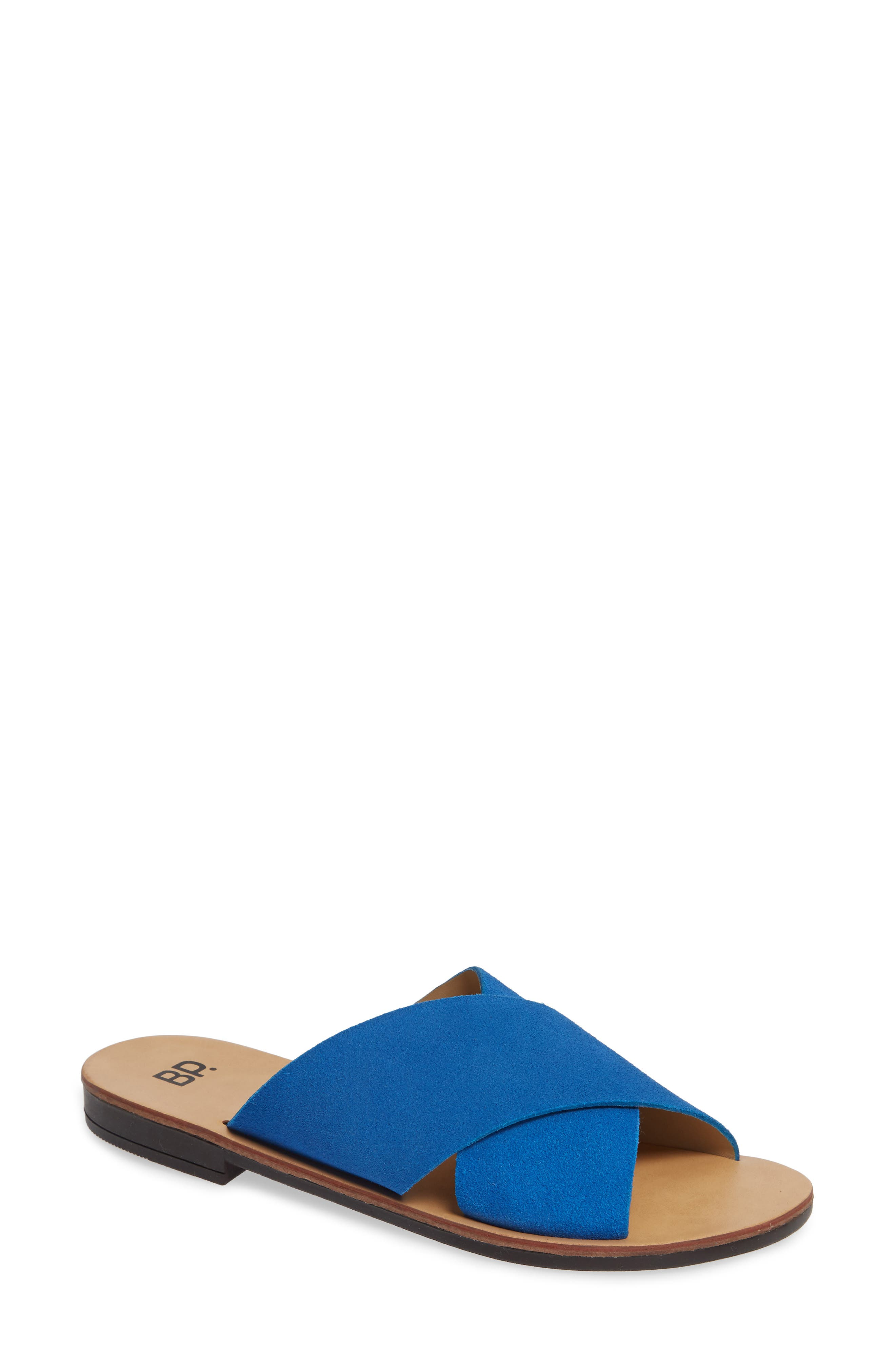 Twist Cross Strap Sandal,                         Main,                         color, 410