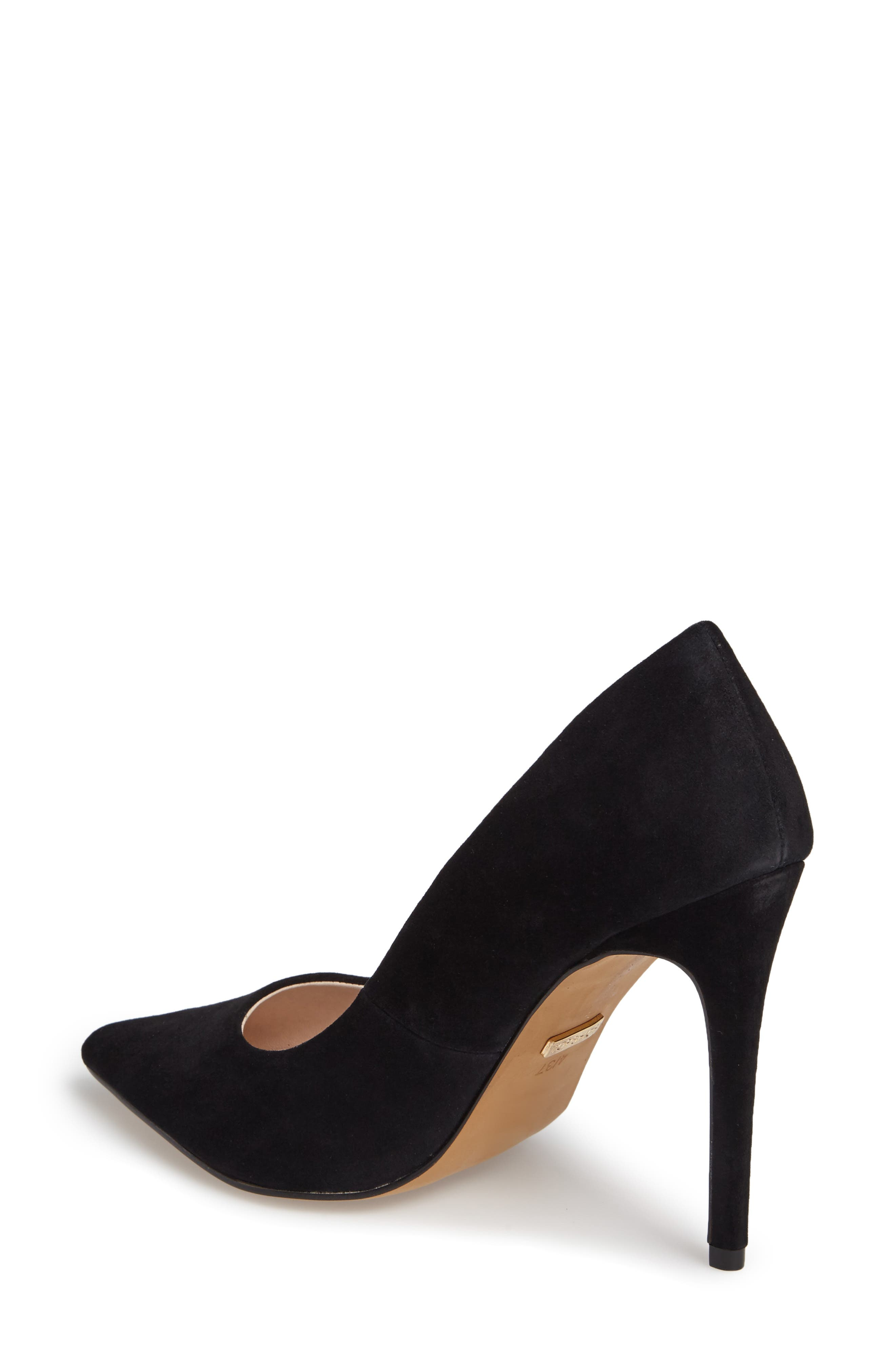 TOPSHOP,                             Grammer Pointy Toe Pump,                             Alternate thumbnail 2, color,                             001