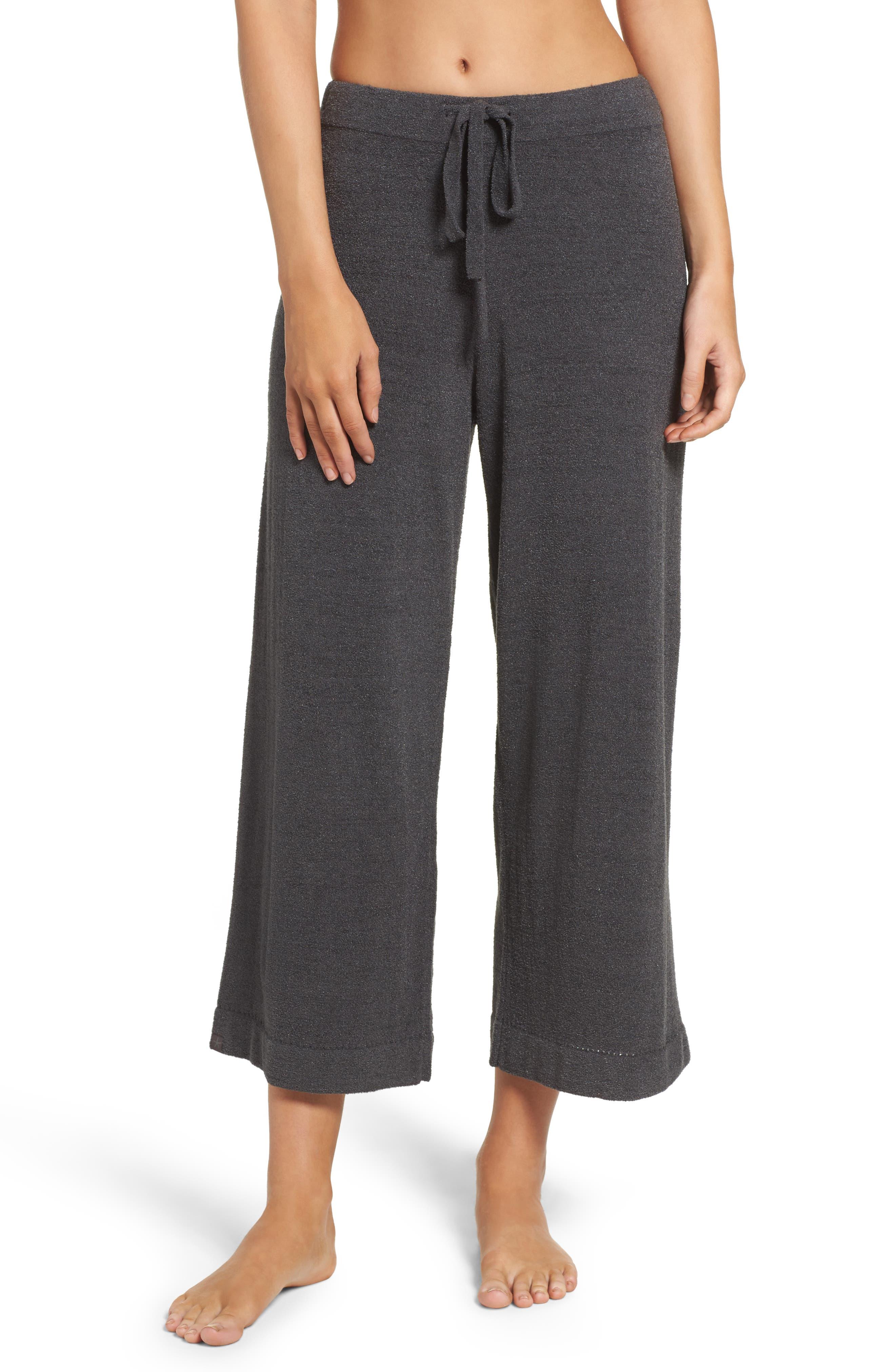Cozychic Ultra Lite<sup>®</sup> Culotte Lounge Pants,                             Main thumbnail 1, color,                             CARBON