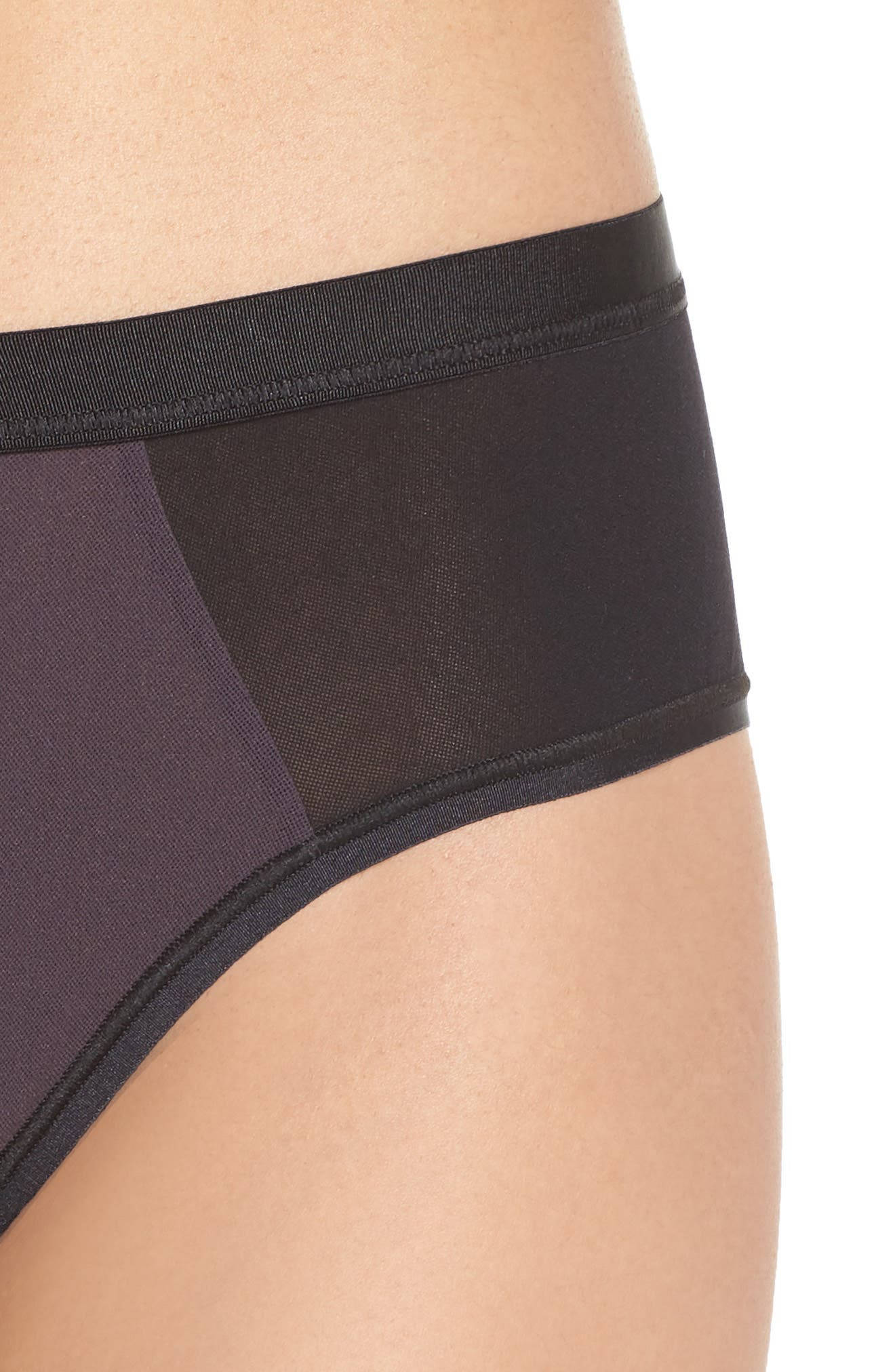 Colorblock Briefs,                             Alternate thumbnail 4, color,                             GRAPH BLACK