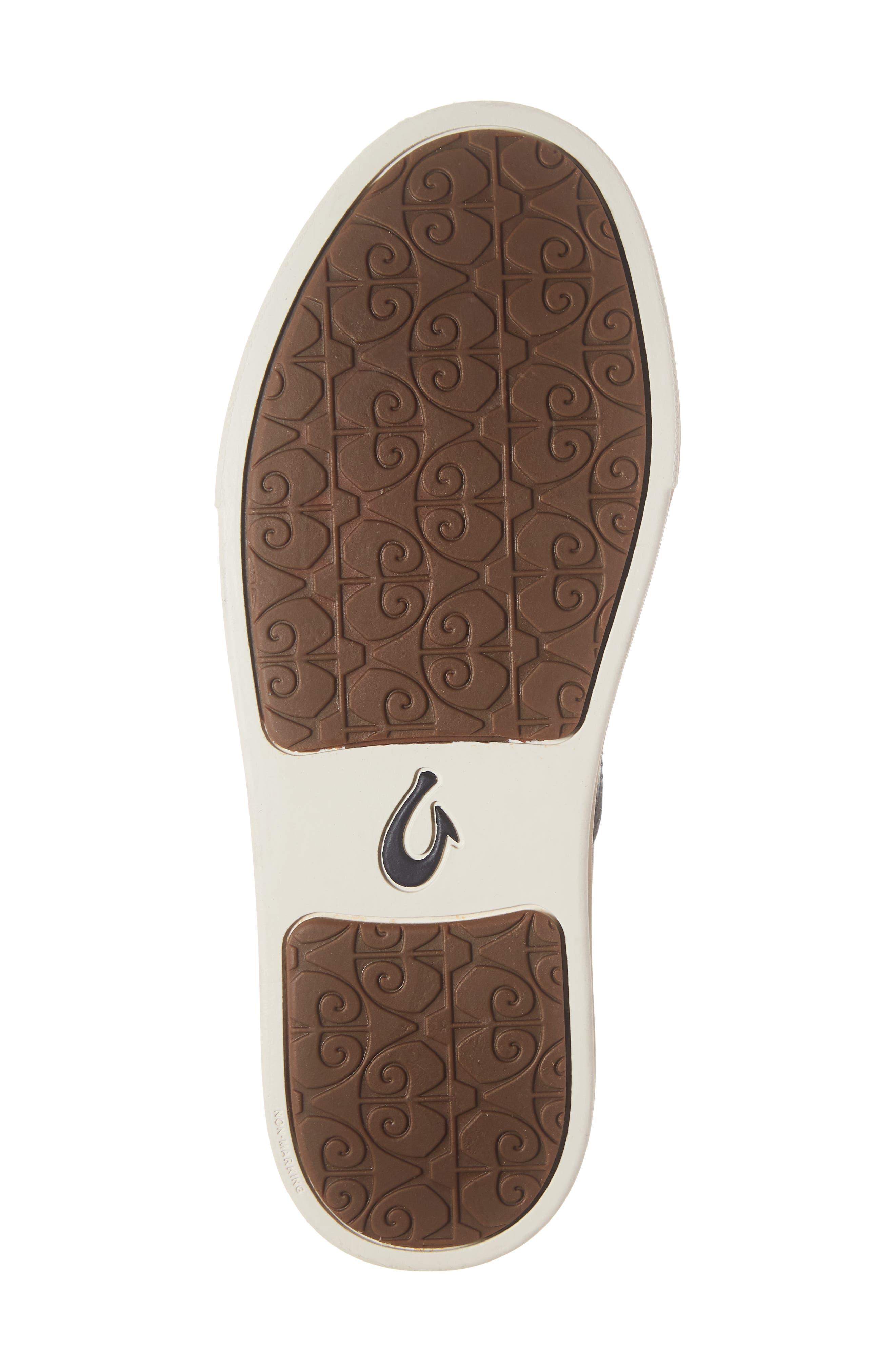 Pehuea Slip-On Sneaker,                             Alternate thumbnail 7, color,                             BLACK/ BLACK LEATHER