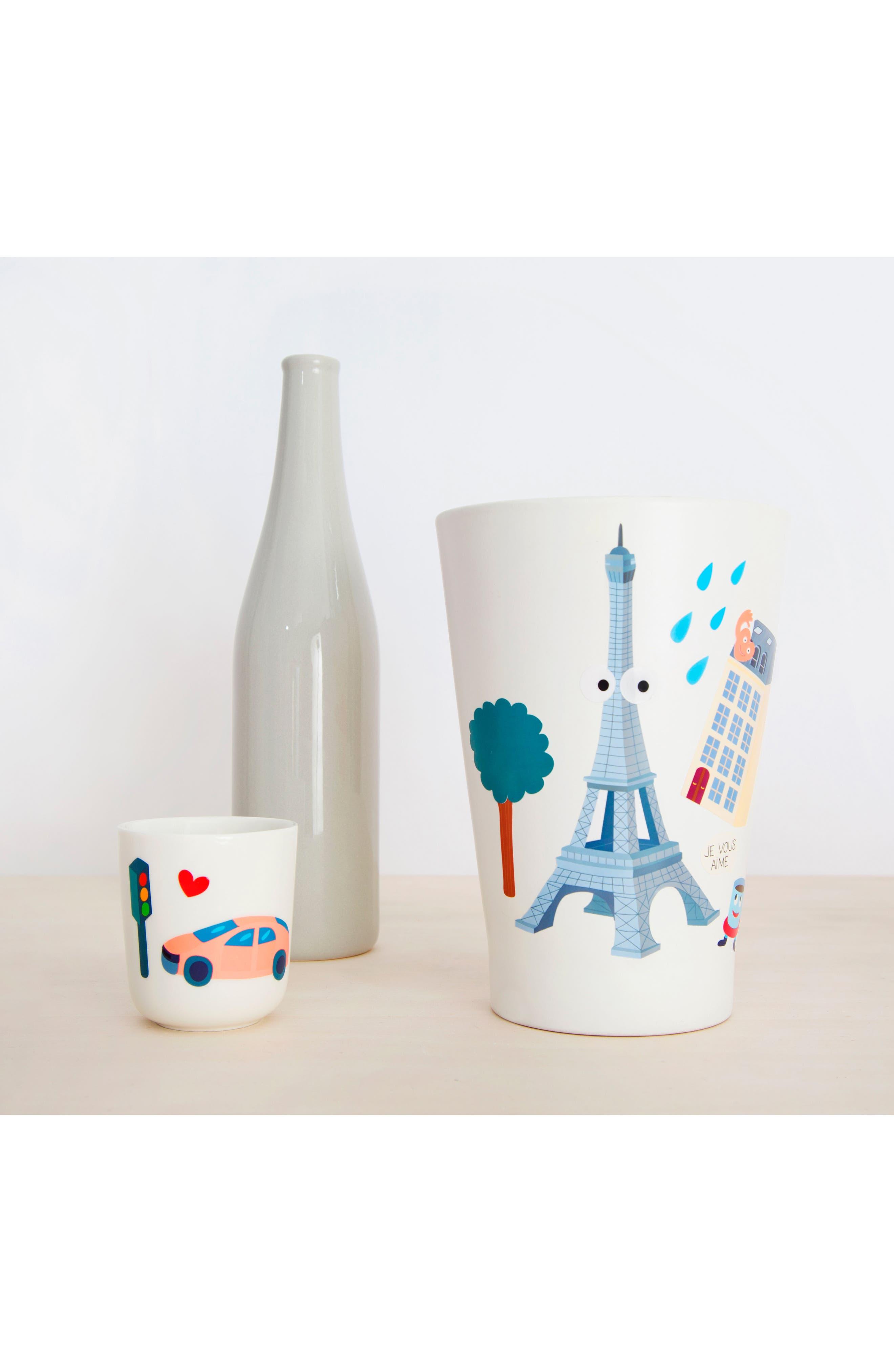 Set of 100 Paris Reusable Wall Stickers,                             Alternate thumbnail 2, color,                             100