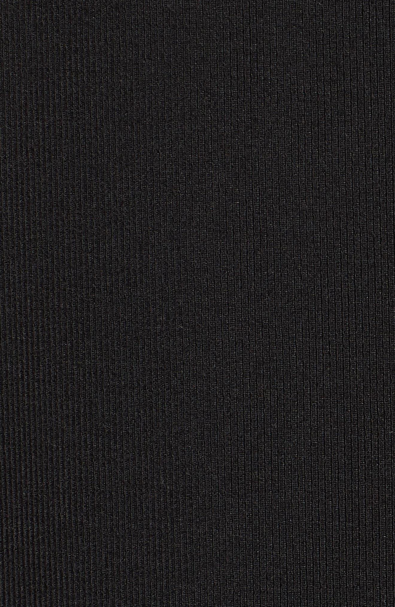 Cold Shoulder Jumpsuit,                             Alternate thumbnail 6, color,                             001