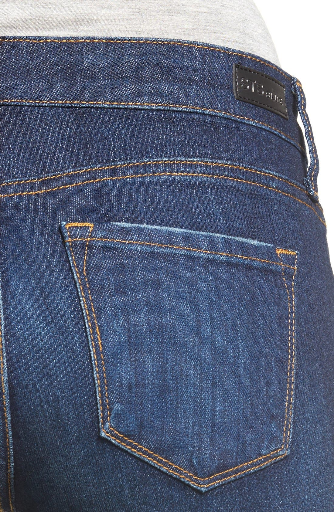 STS BLUE,                             'Emma' Release Hem Skinny Jeans,                             Alternate thumbnail 2, color,                             400
