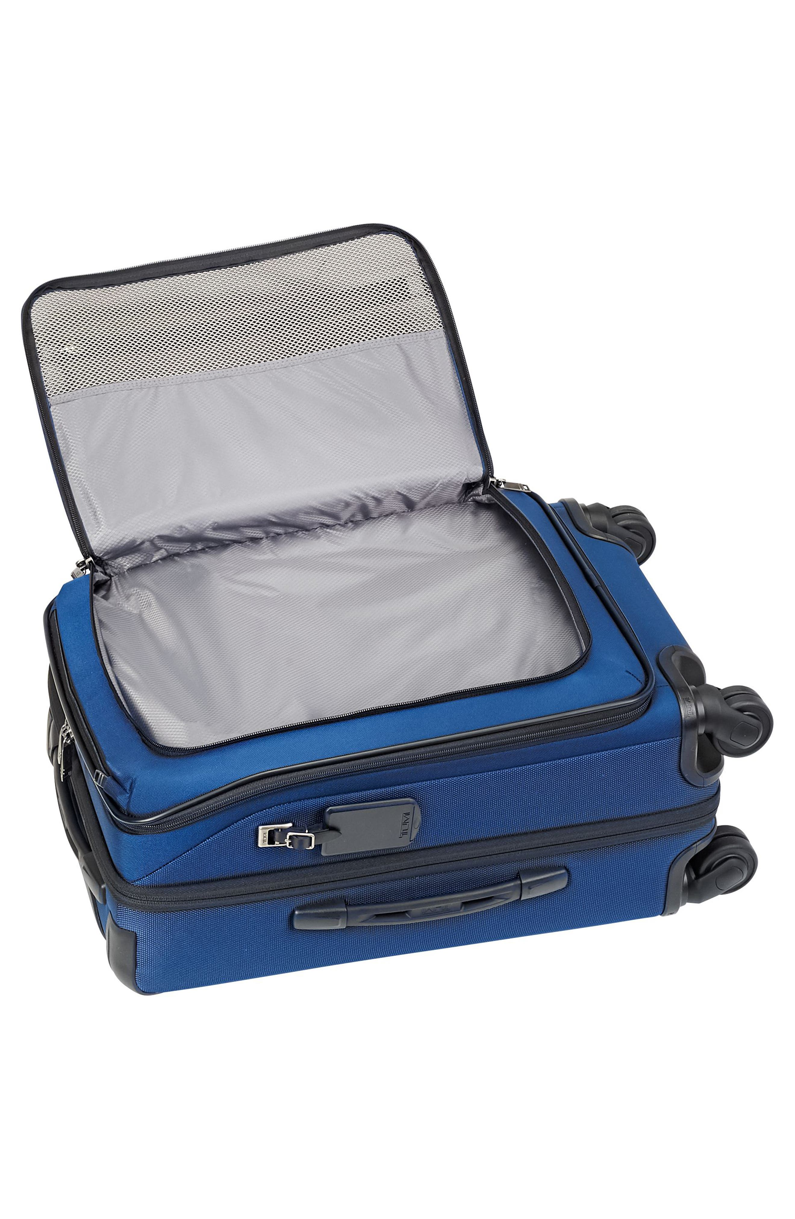 Merge - 22-Inch International Expandable Rolling Carry-On,                             Alternate thumbnail 2, color,                             OCEAN BLUE