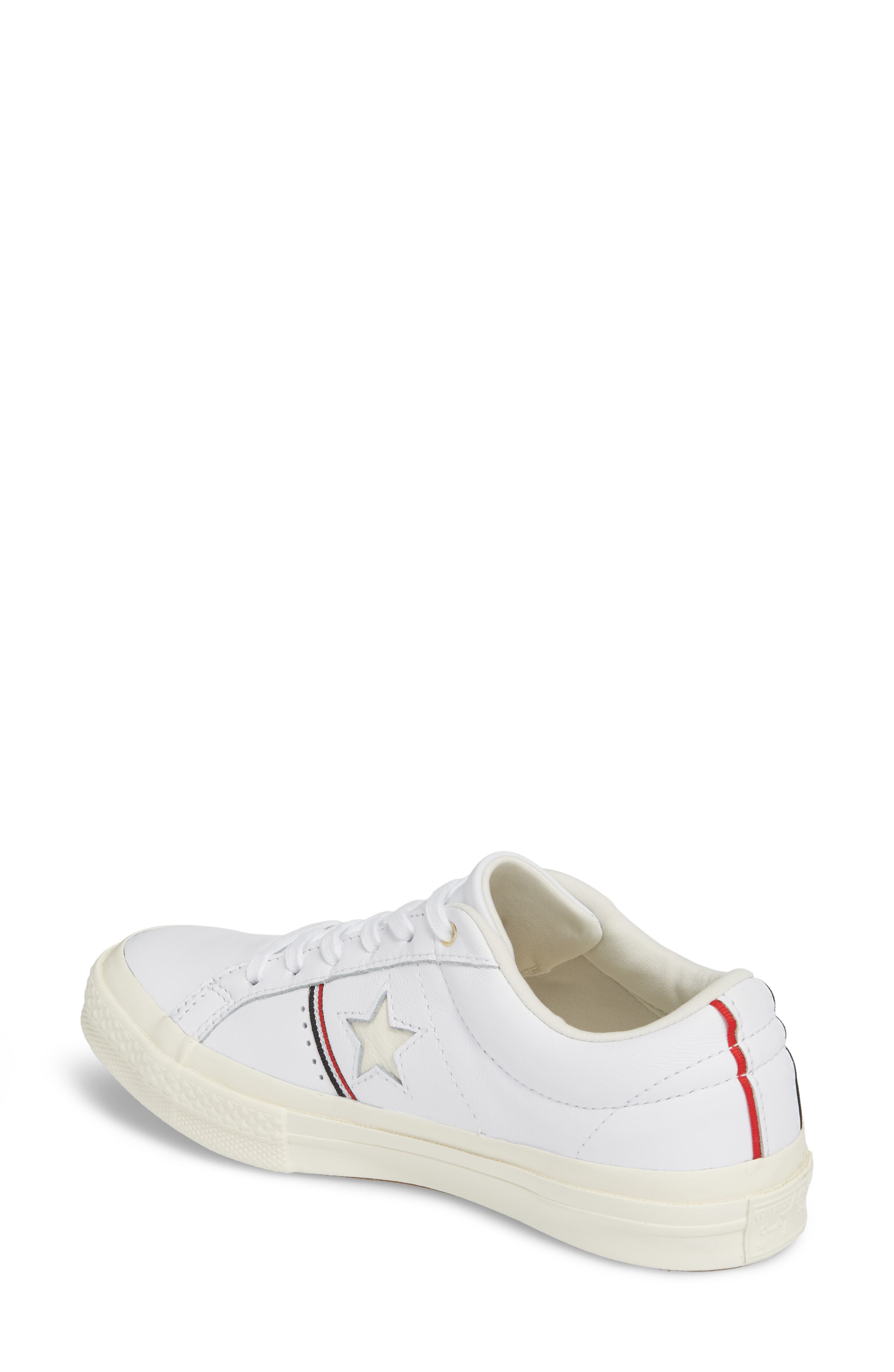 One Star Piping Sneaker,                             Alternate thumbnail 5, color,