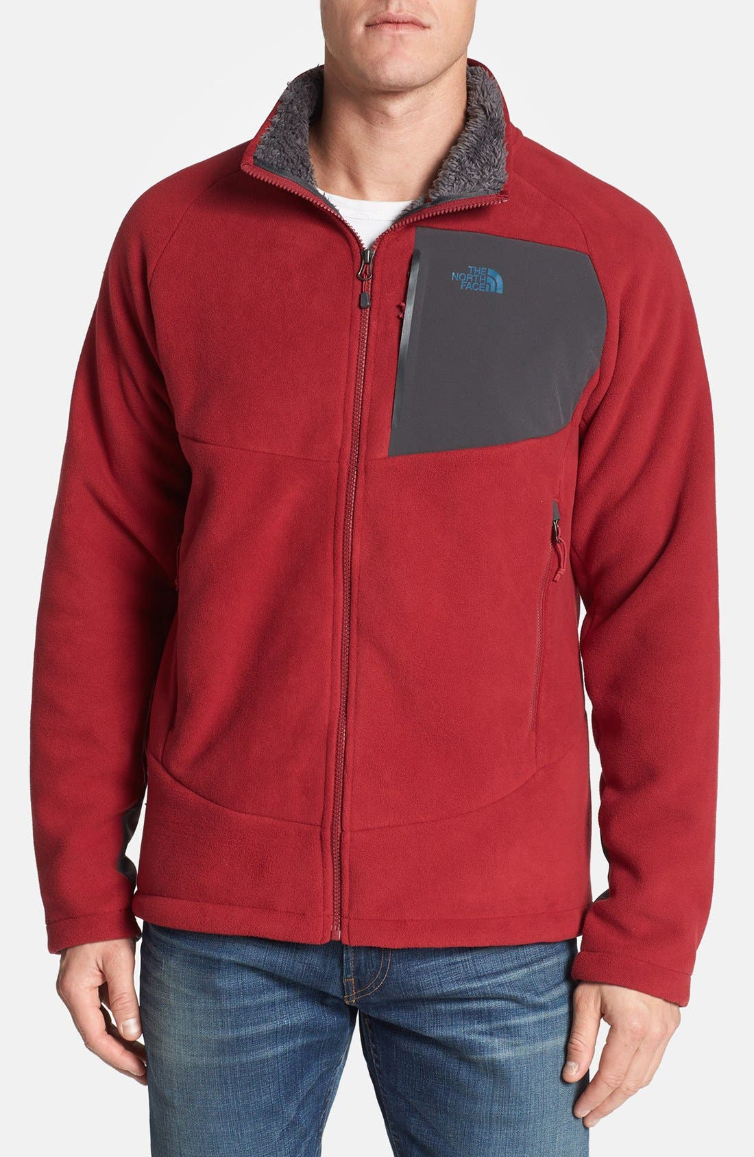 'Chimborazo' Zip Front Fleece Jacket,                             Main thumbnail 15, color,
