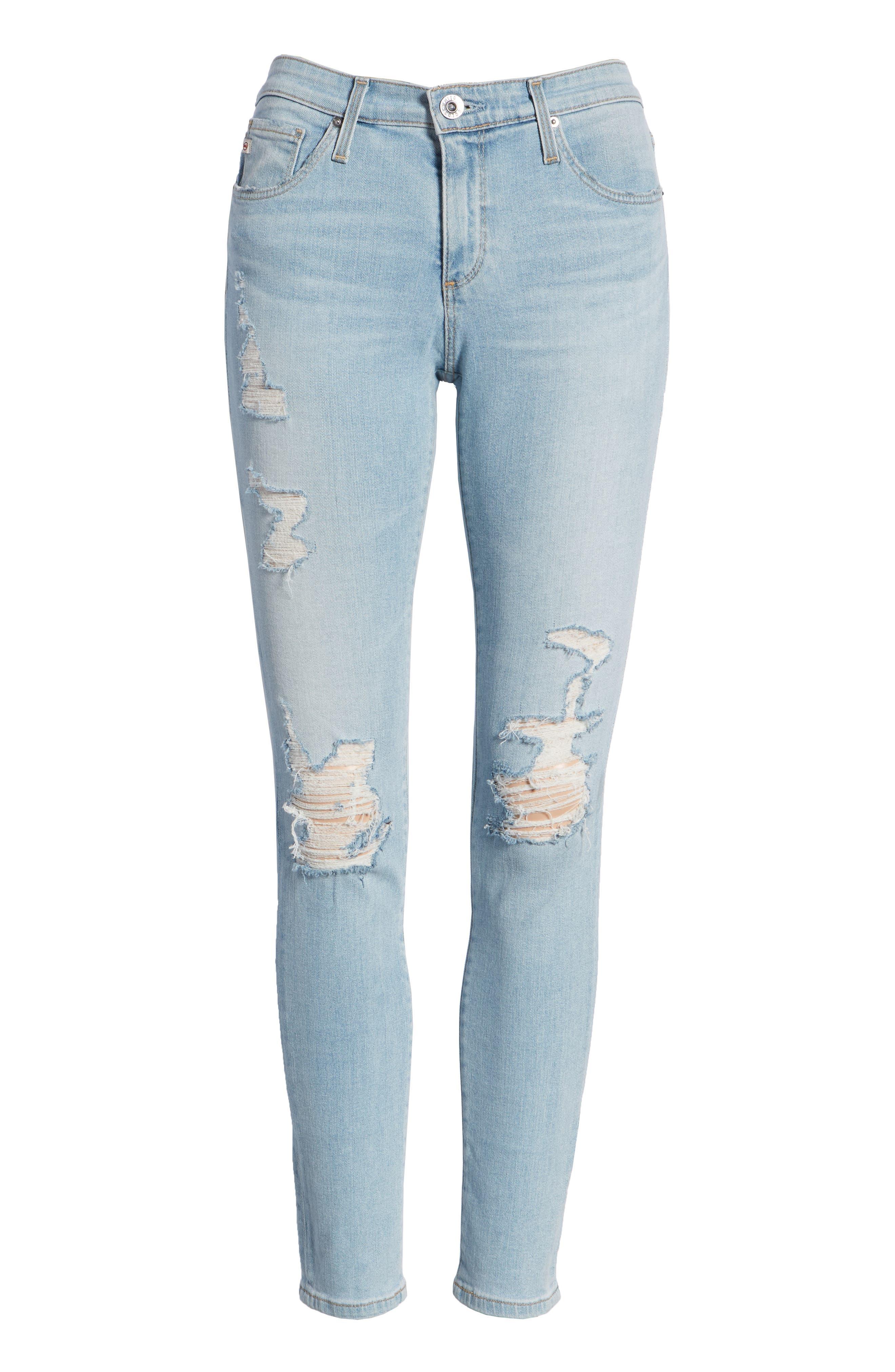 The Legging Ankle Super Skinny Jeans,                             Alternate thumbnail 84, color,