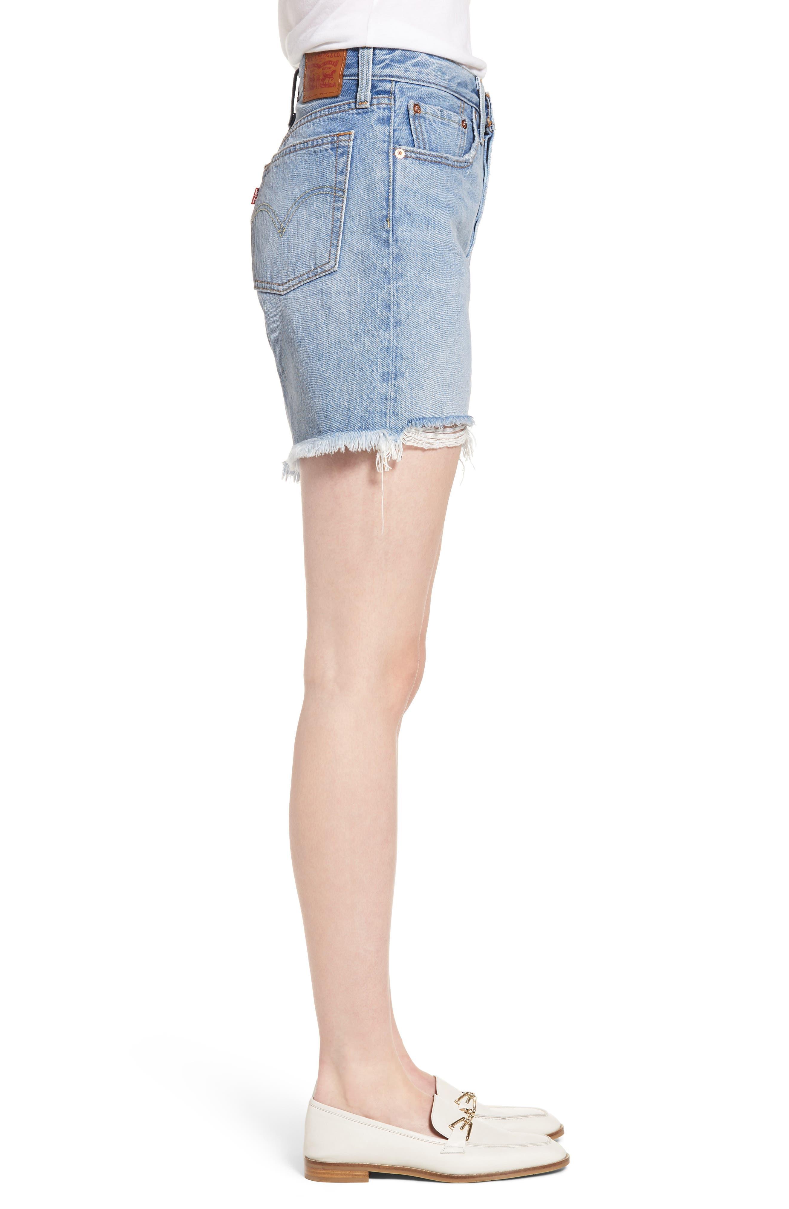 Indie Shredded Shorts,                             Alternate thumbnail 3, color,                             420