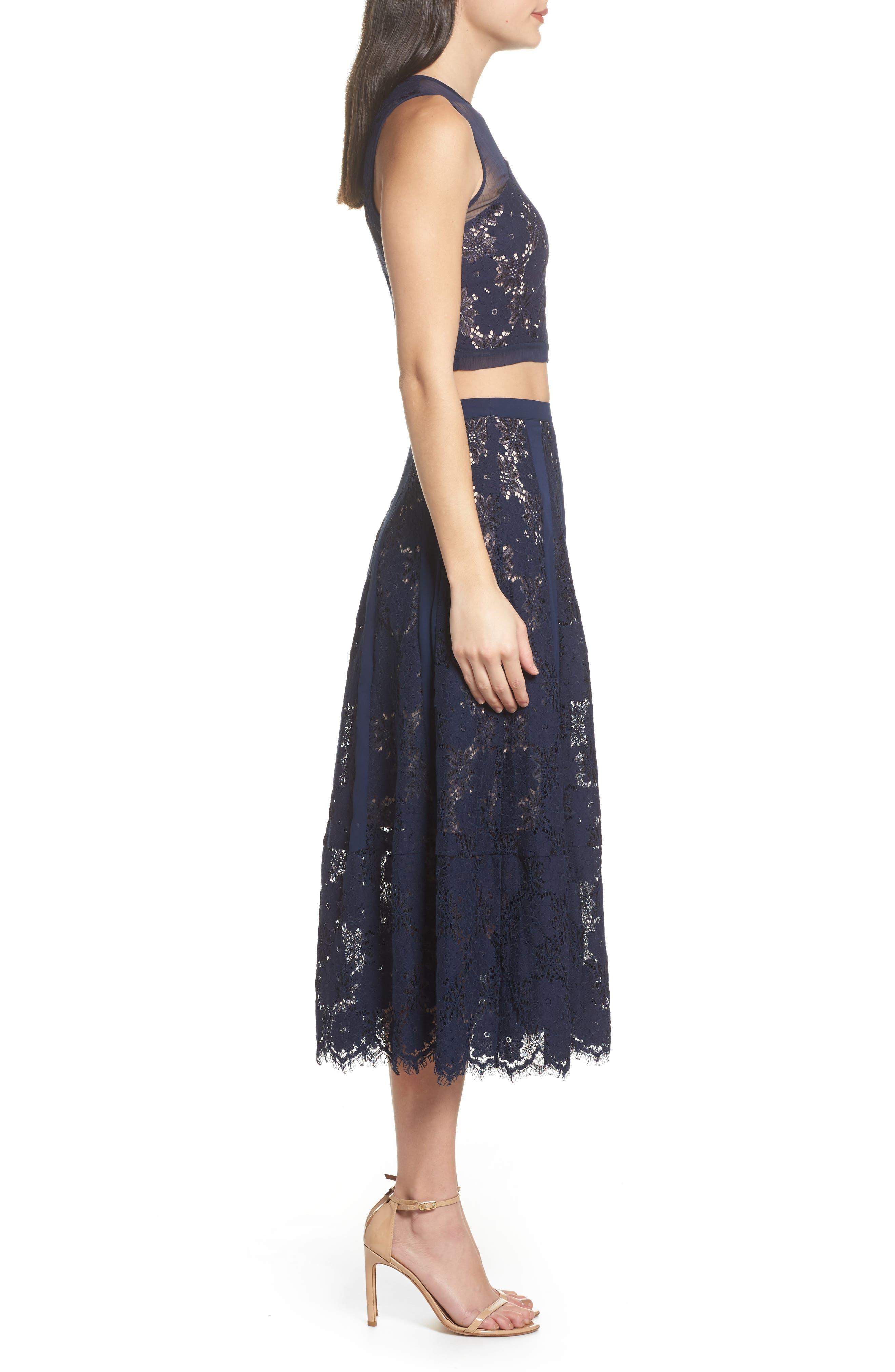 Atiqah Two-Piece Dress,                             Alternate thumbnail 3, color,                             414