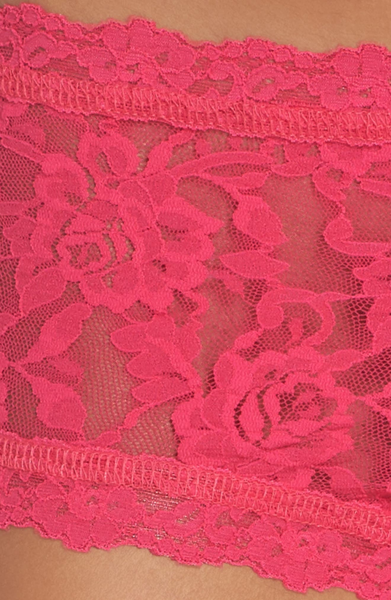 'Signature Lace' Boyshorts,                             Alternate thumbnail 439, color,
