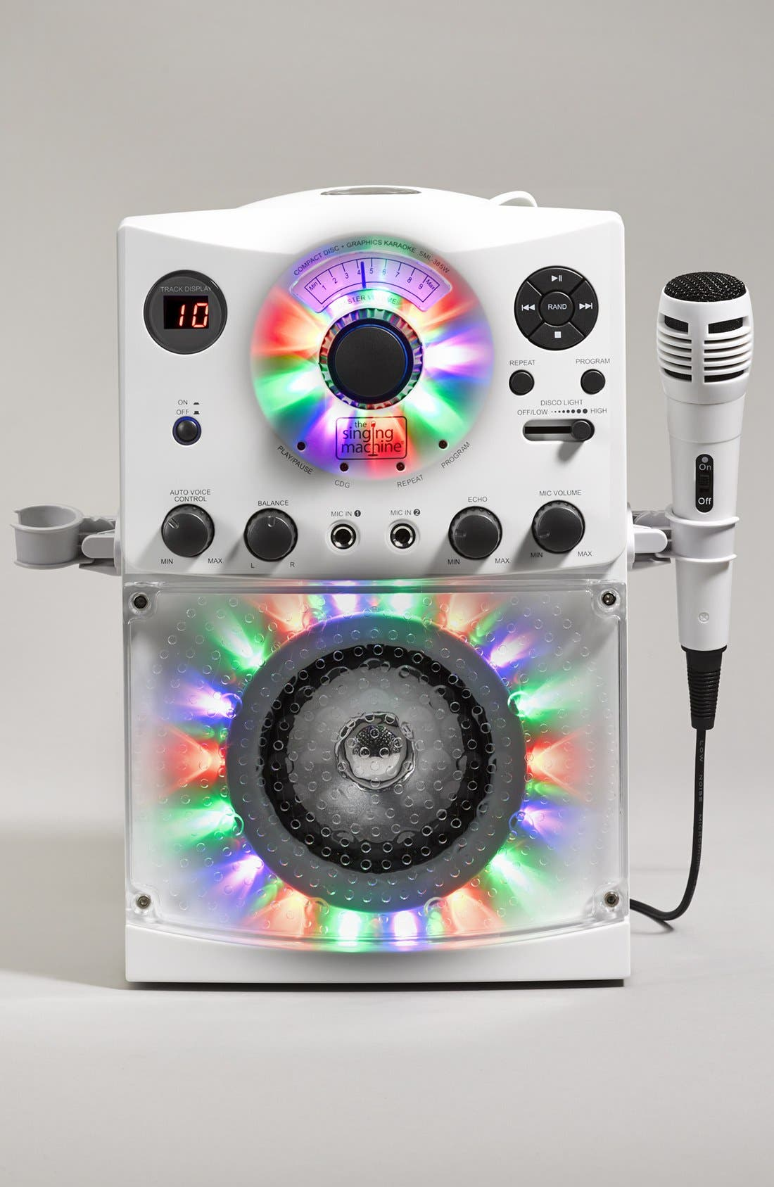 Karaoke System with Disco Lights,                             Alternate thumbnail 2, color,                             100