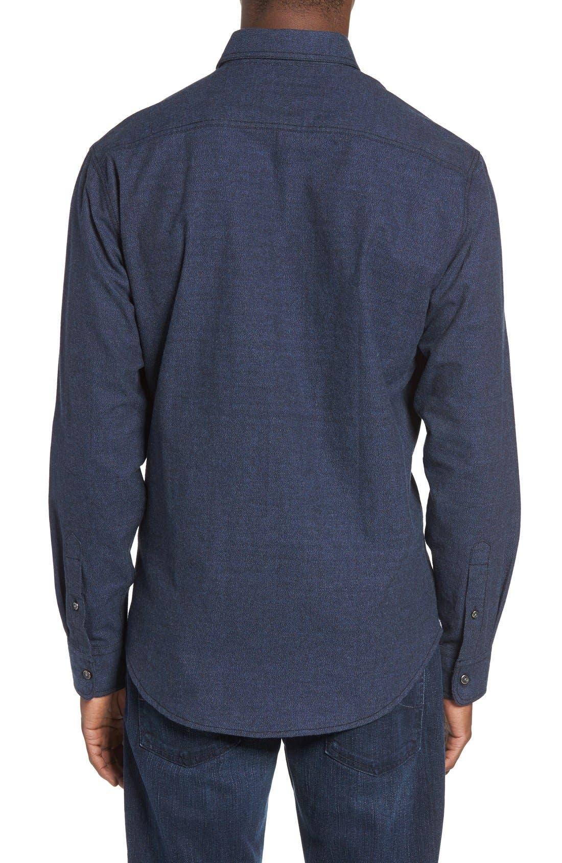 Regular Fit Sport Shirt,                             Alternate thumbnail 4, color,                             400