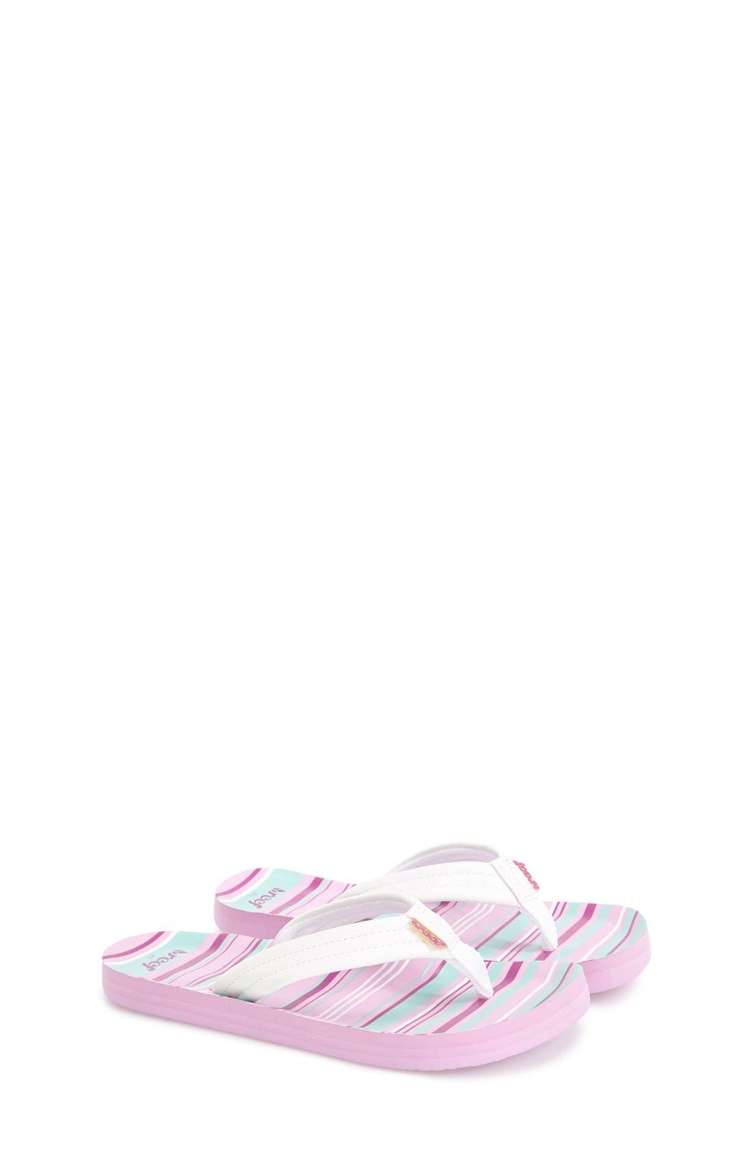 'Little Ahi' Thong Sandal,                             Main thumbnail 10, color,