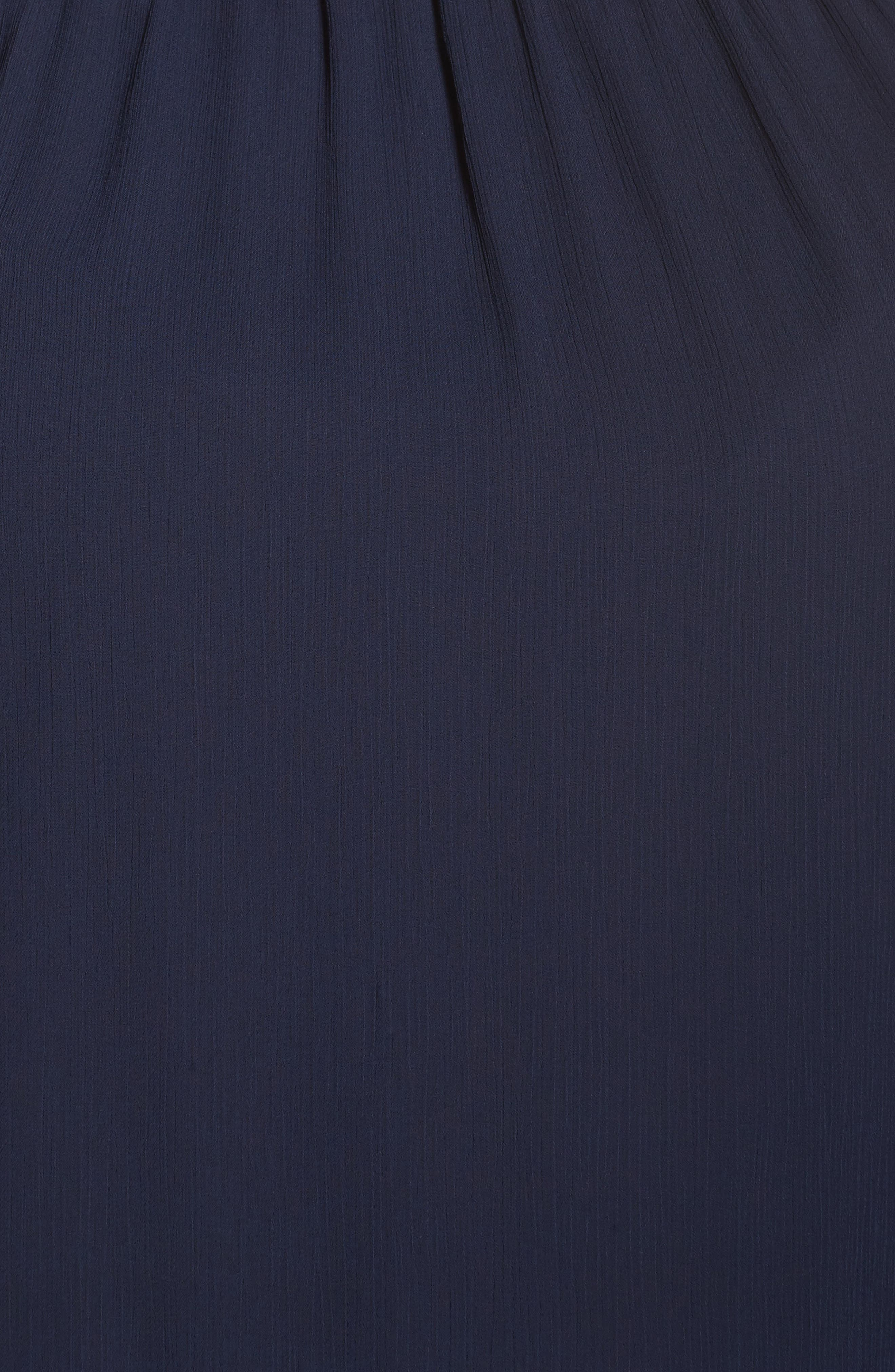 Lace Trim Babydoll Top,                             Alternate thumbnail 5, color,                             401