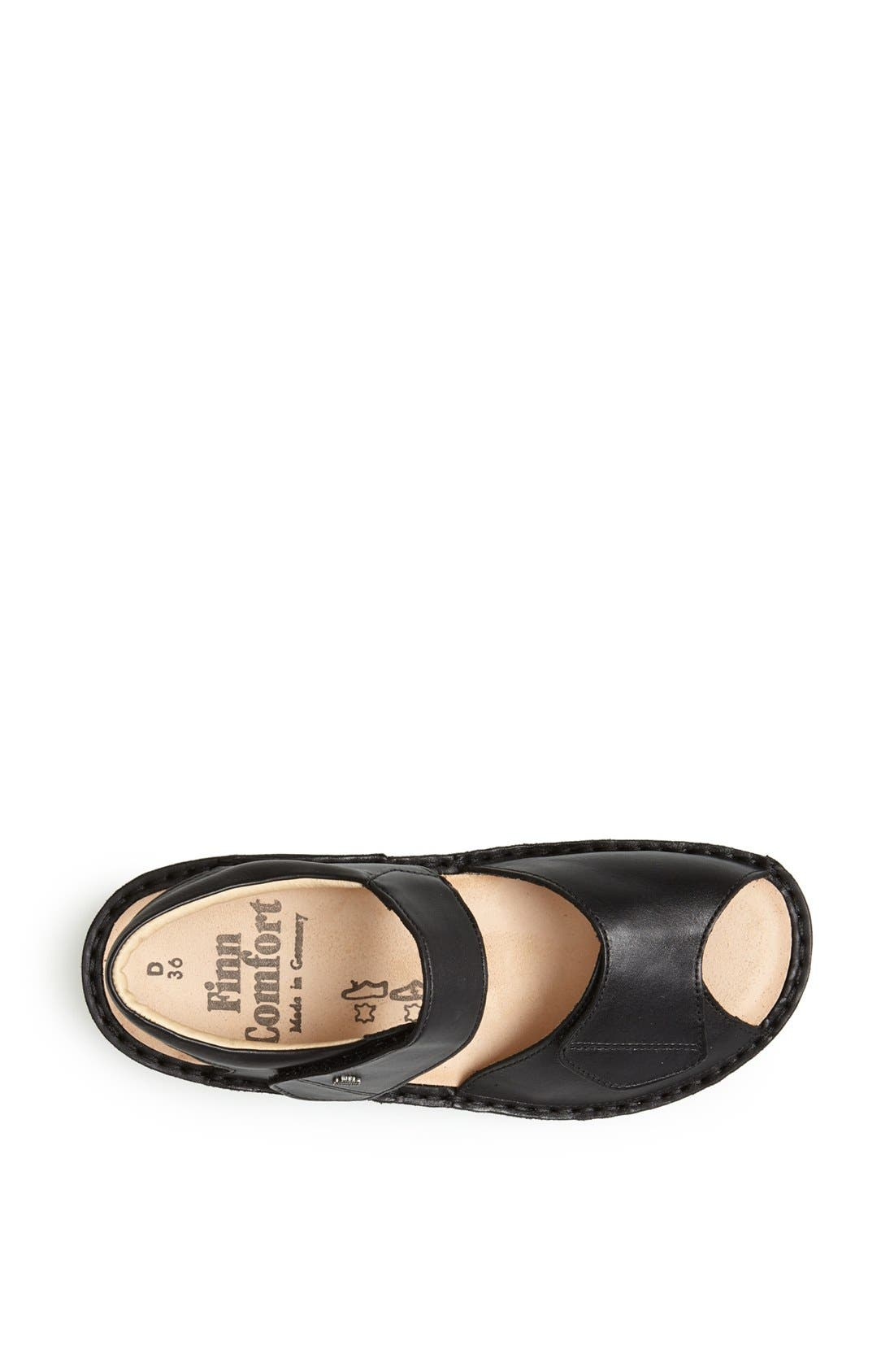 'Faro-S' Leather Sandal,                             Alternate thumbnail 3, color,