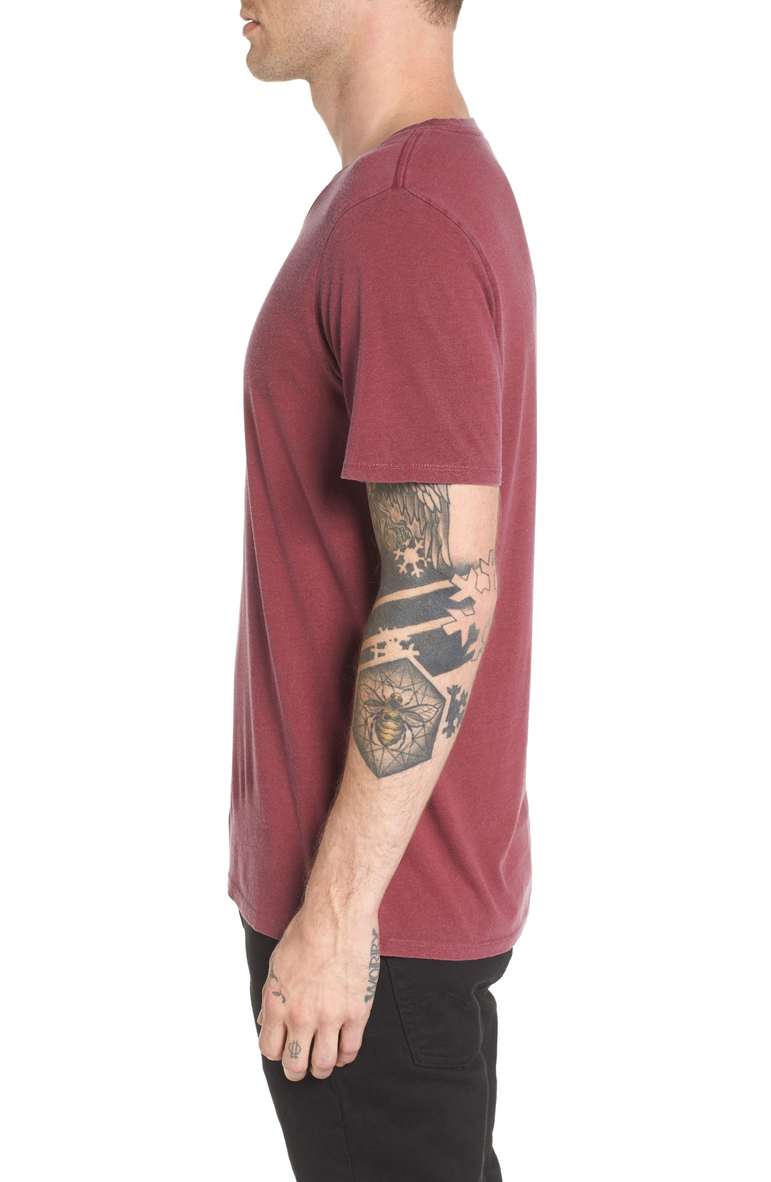 Slim Fit Scoop Neck T-Shirt,                             Alternate thumbnail 6, color,