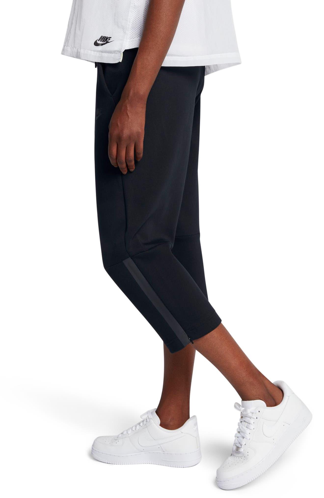 Sportswear Women's Tech Fleece Sneaker Pants,                             Alternate thumbnail 3, color,                             010