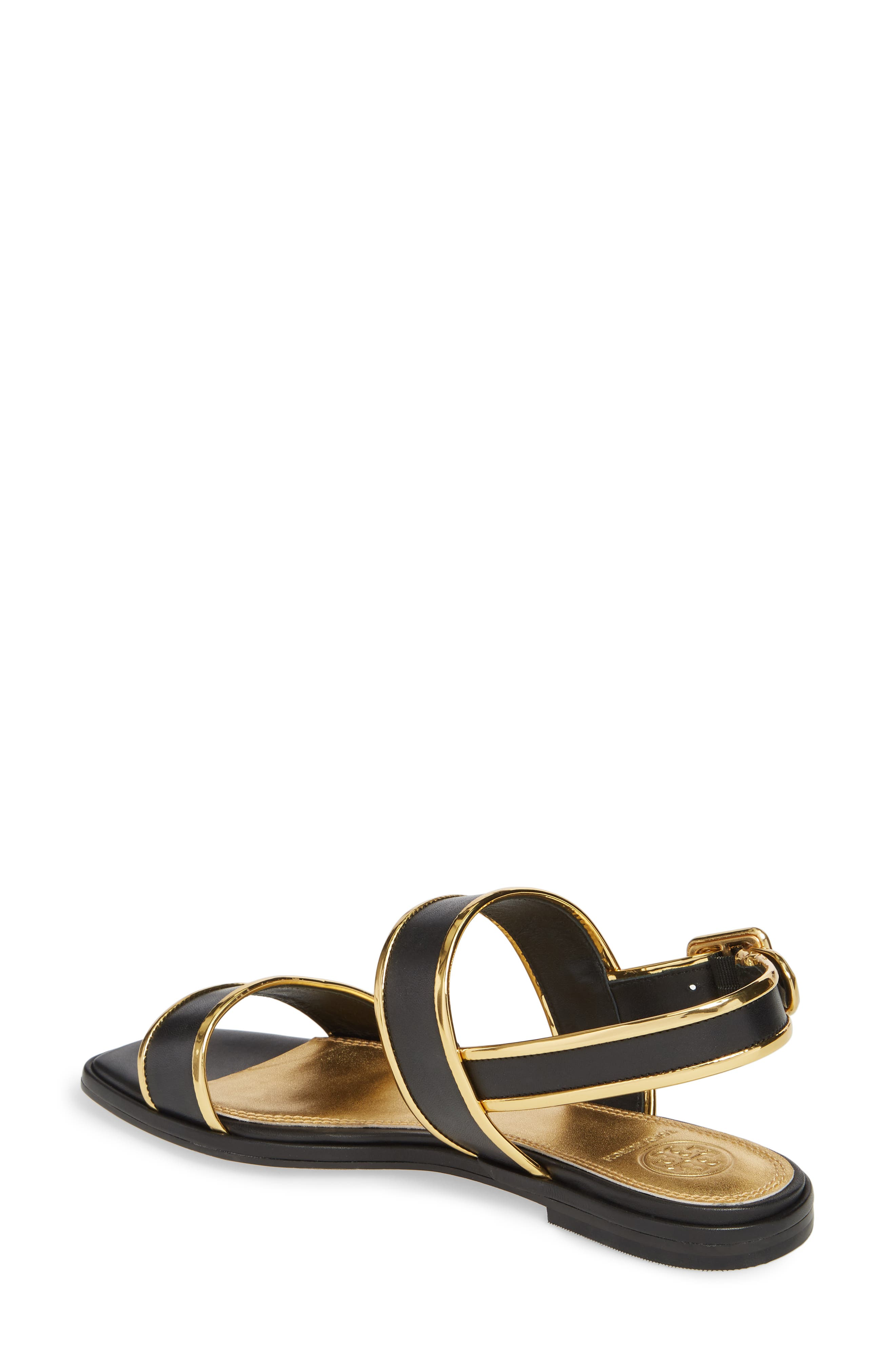 Delaney Double Strap Sandal,                             Alternate thumbnail 7, color,