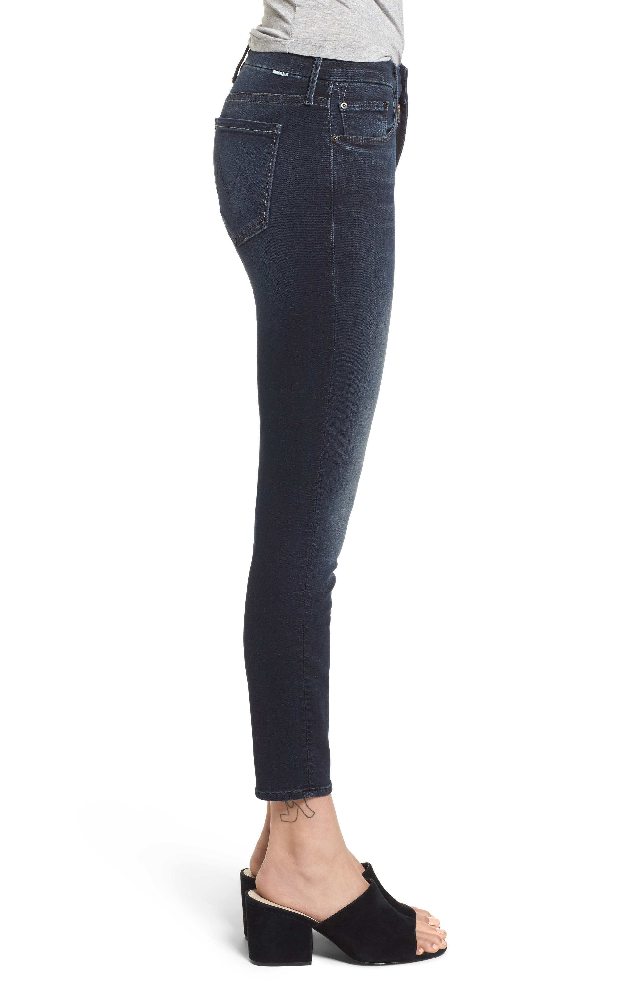 The Looker Crop Skinny Jeans,                             Alternate thumbnail 3, color,                             405