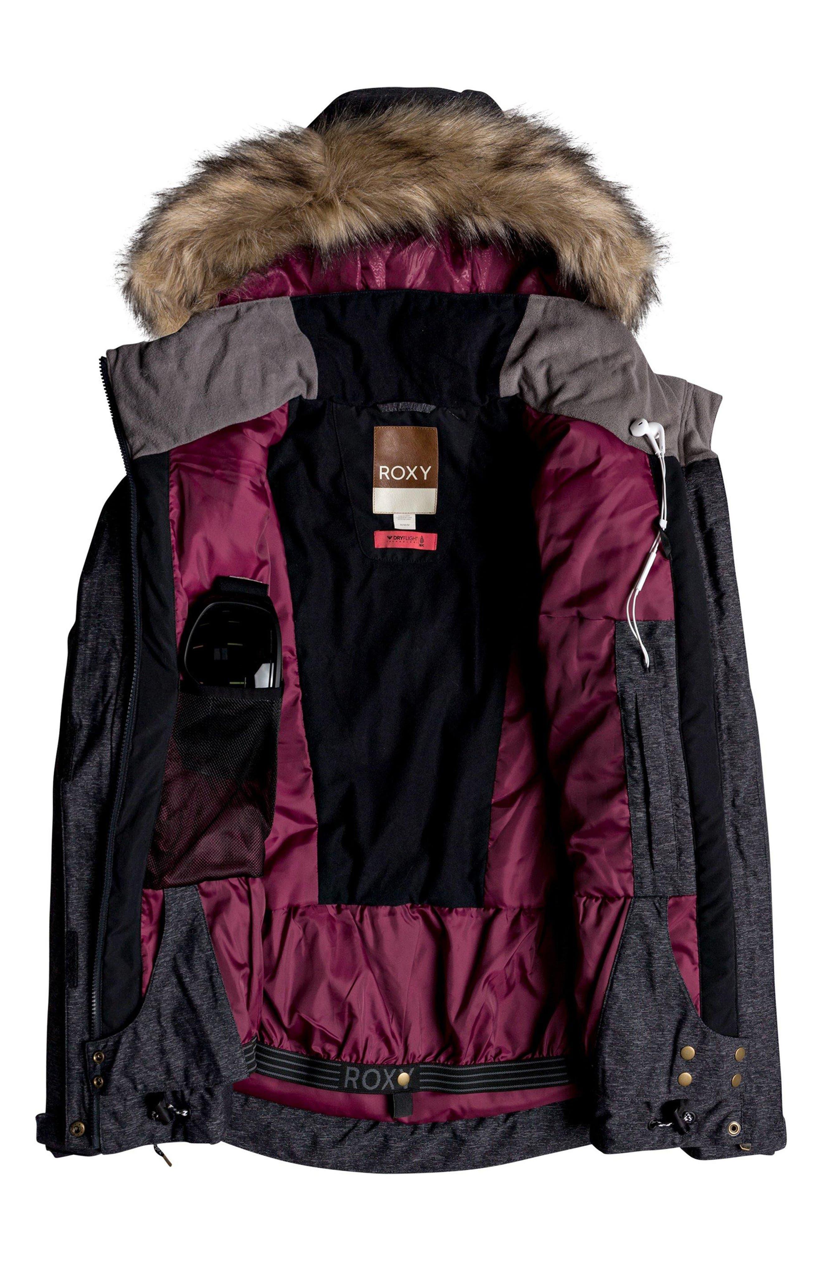Meade Snow Jacket,                             Alternate thumbnail 2, color,                             TRUE BLACK