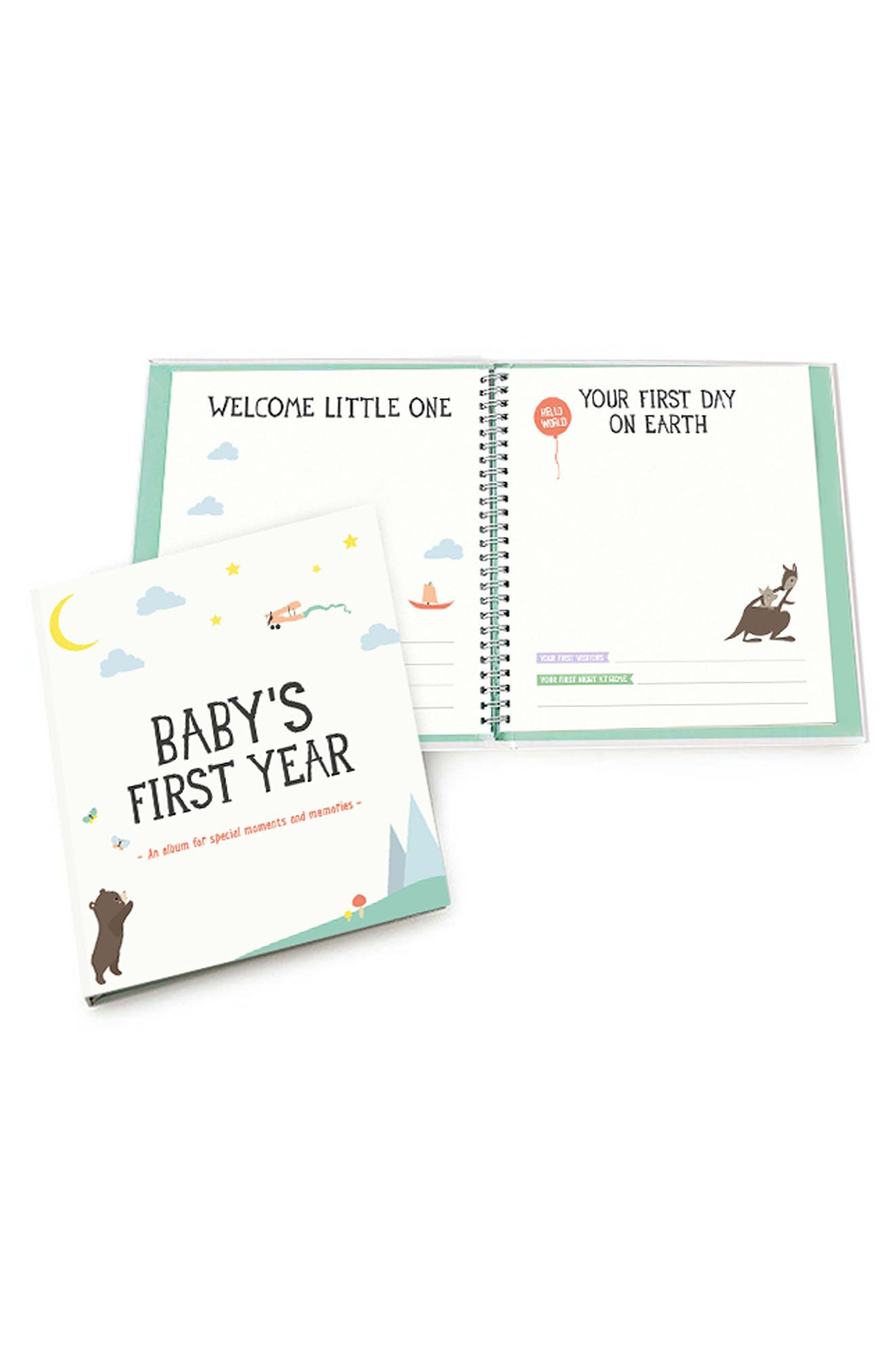 MILESTONE BABY CARDS,                             Baby's First Year Album,                             Alternate thumbnail 2, color,                             100