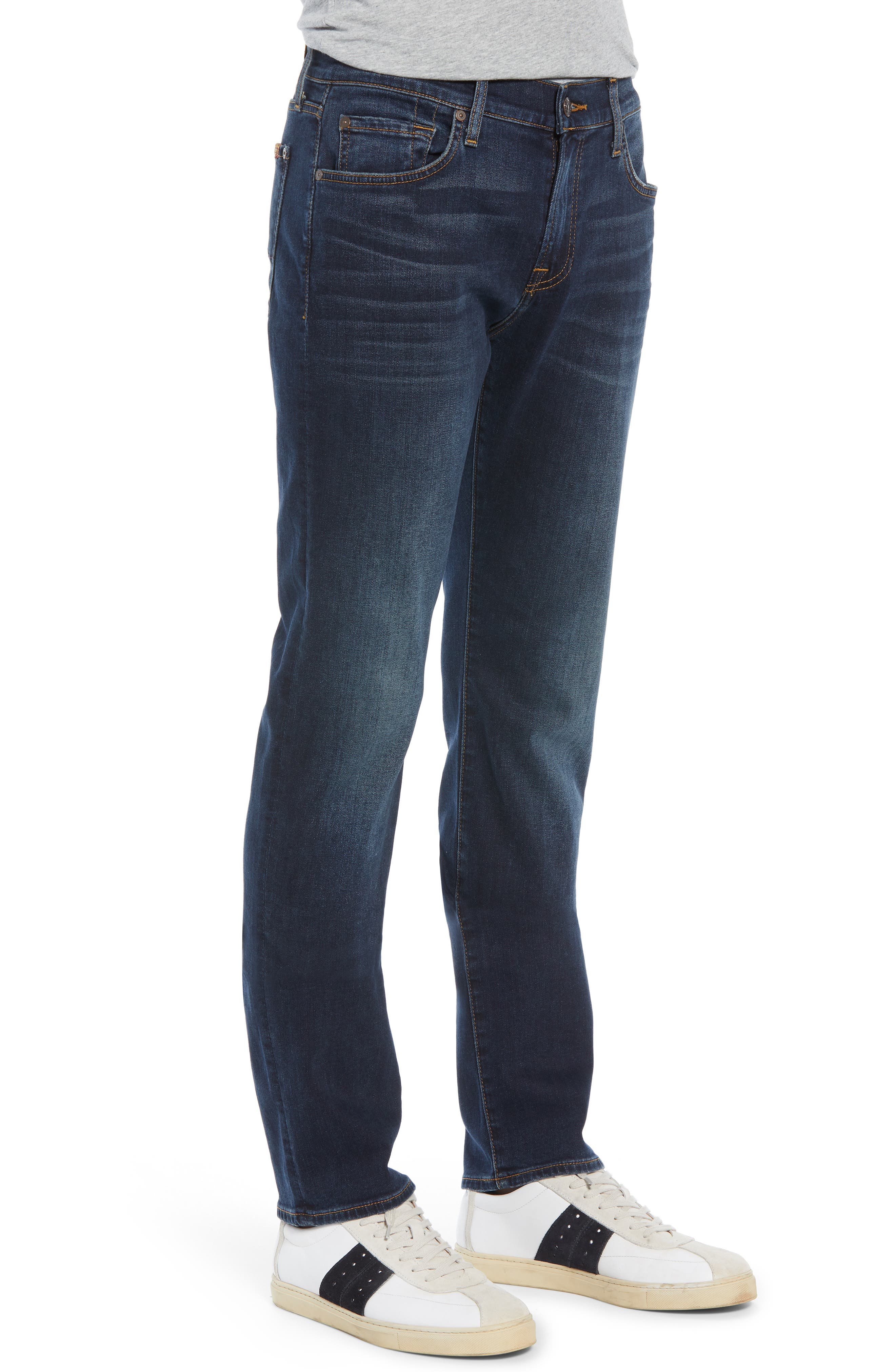 Slimmy Slim Fit Jeans,                             Alternate thumbnail 3, color,                             LONEWOLF