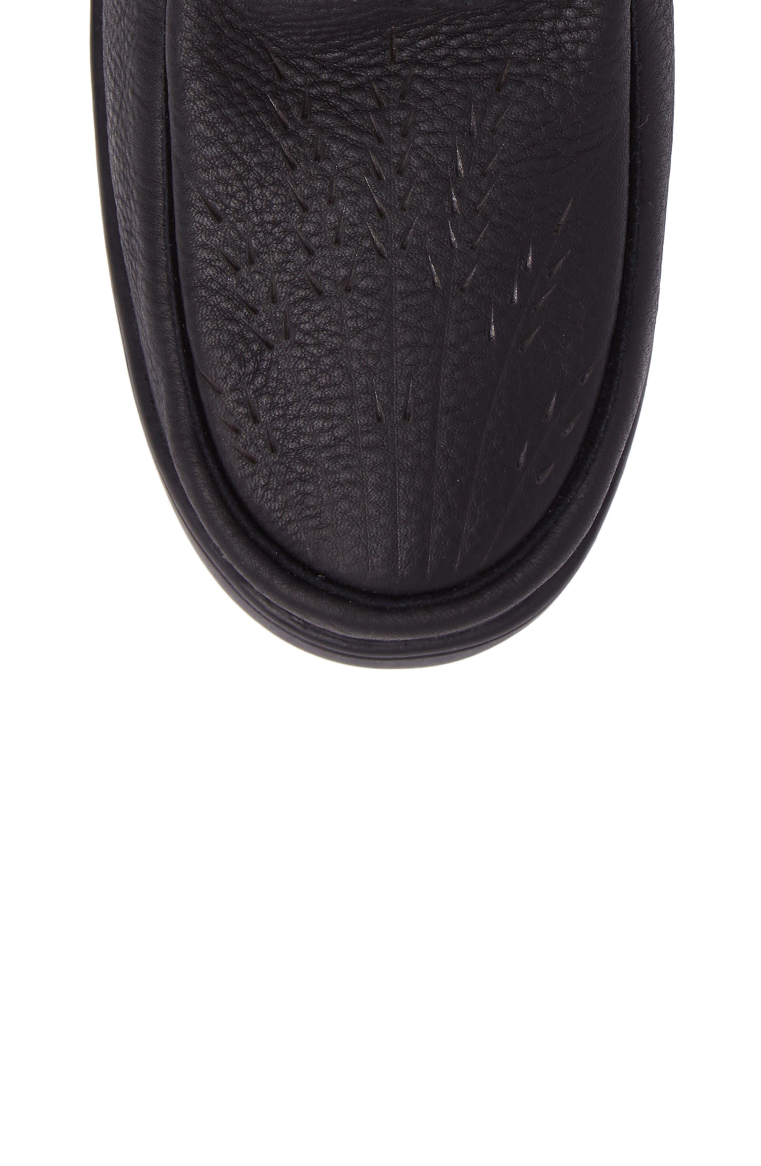 MANITOBAH MUKLUKS,                             Tamarack Waterproof Genuine Shearling Boot,                             Alternate thumbnail 5, color,                             001