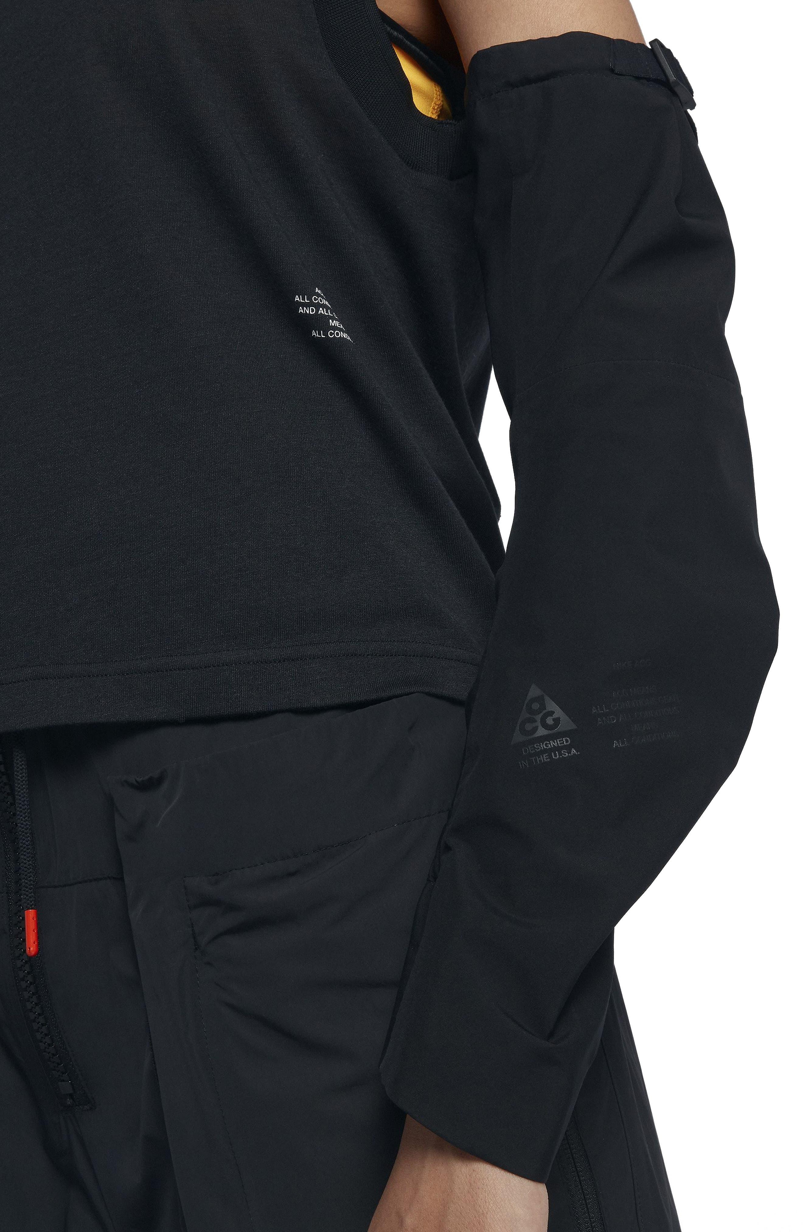 NikeLab ACG Gore-Tex<sup>®</sup> Women's Jacket,                             Alternate thumbnail 6, color,                             010