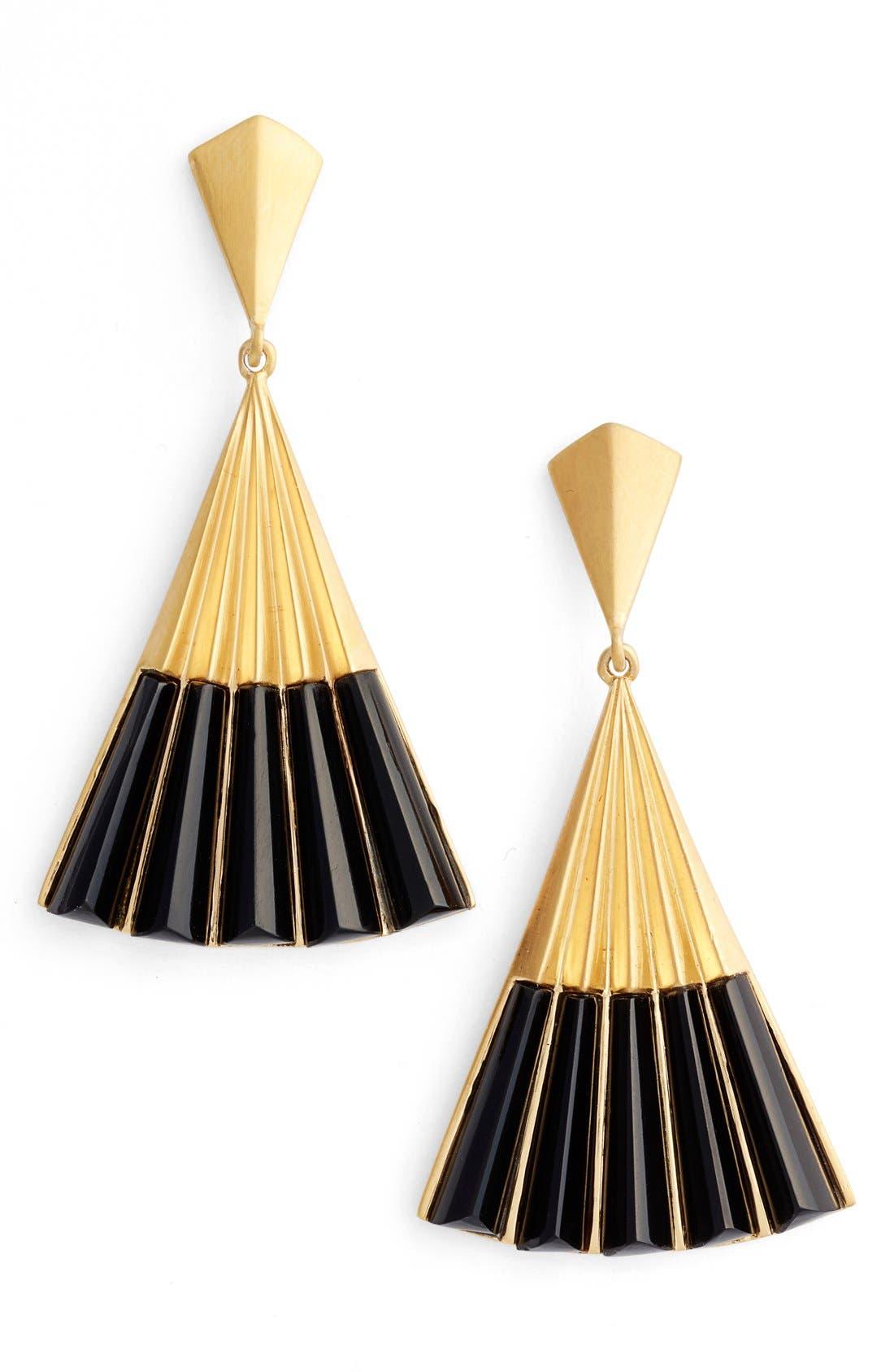 Fan Earrings,                         Main,                         color, 001