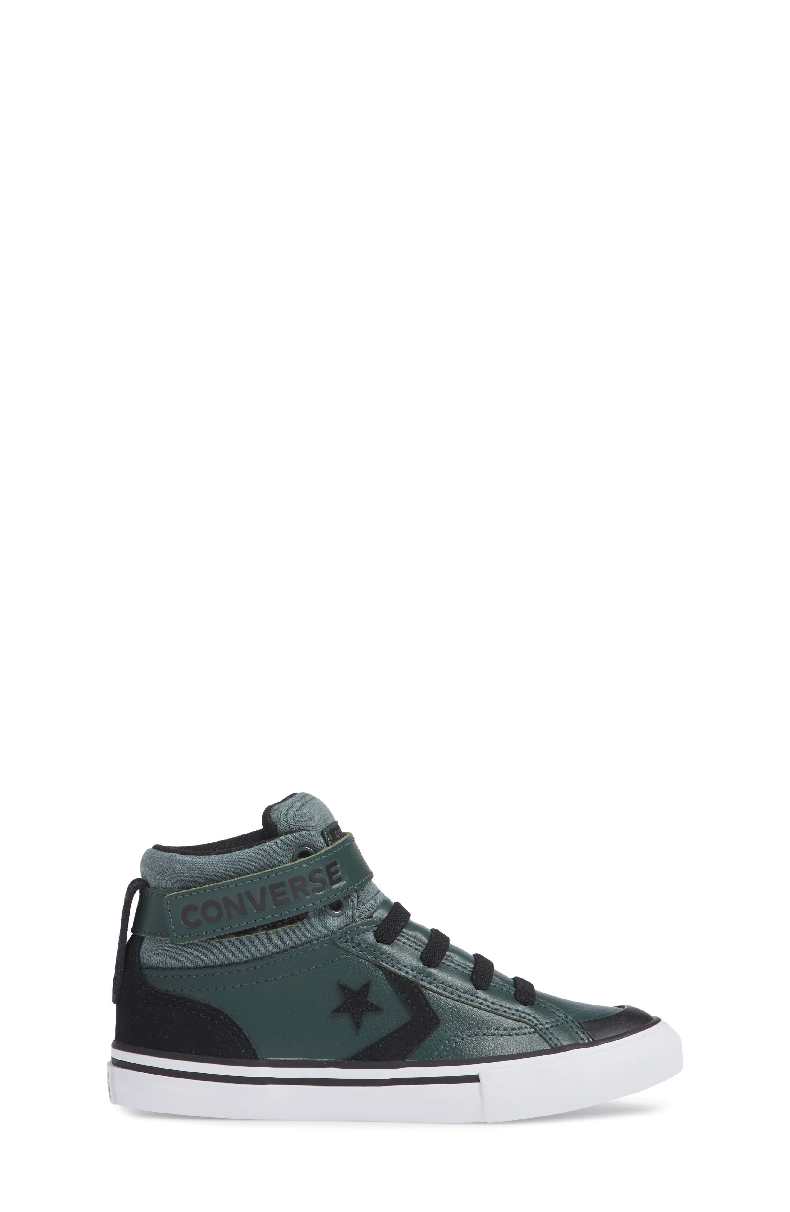 Pro Blaze High Top Sneaker,                             Alternate thumbnail 3, color,                             VINTAGE GREEN