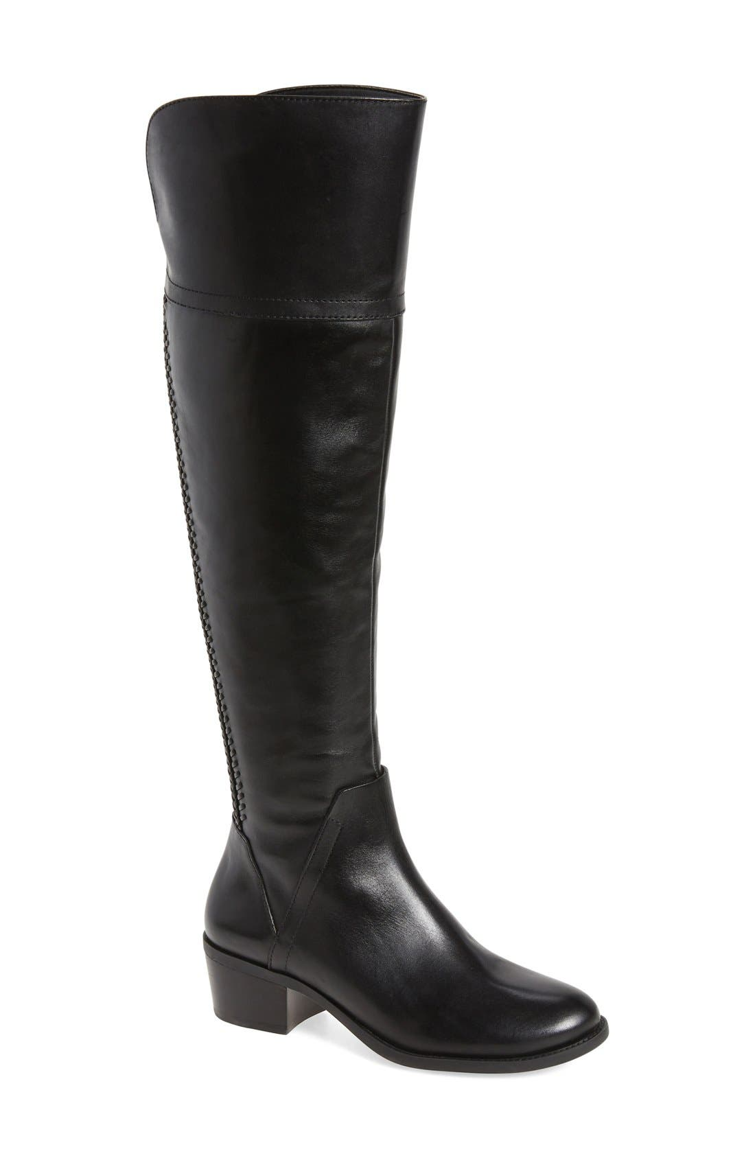 Bendra Over the Knee Split Shaft Boot, Main, color, 001