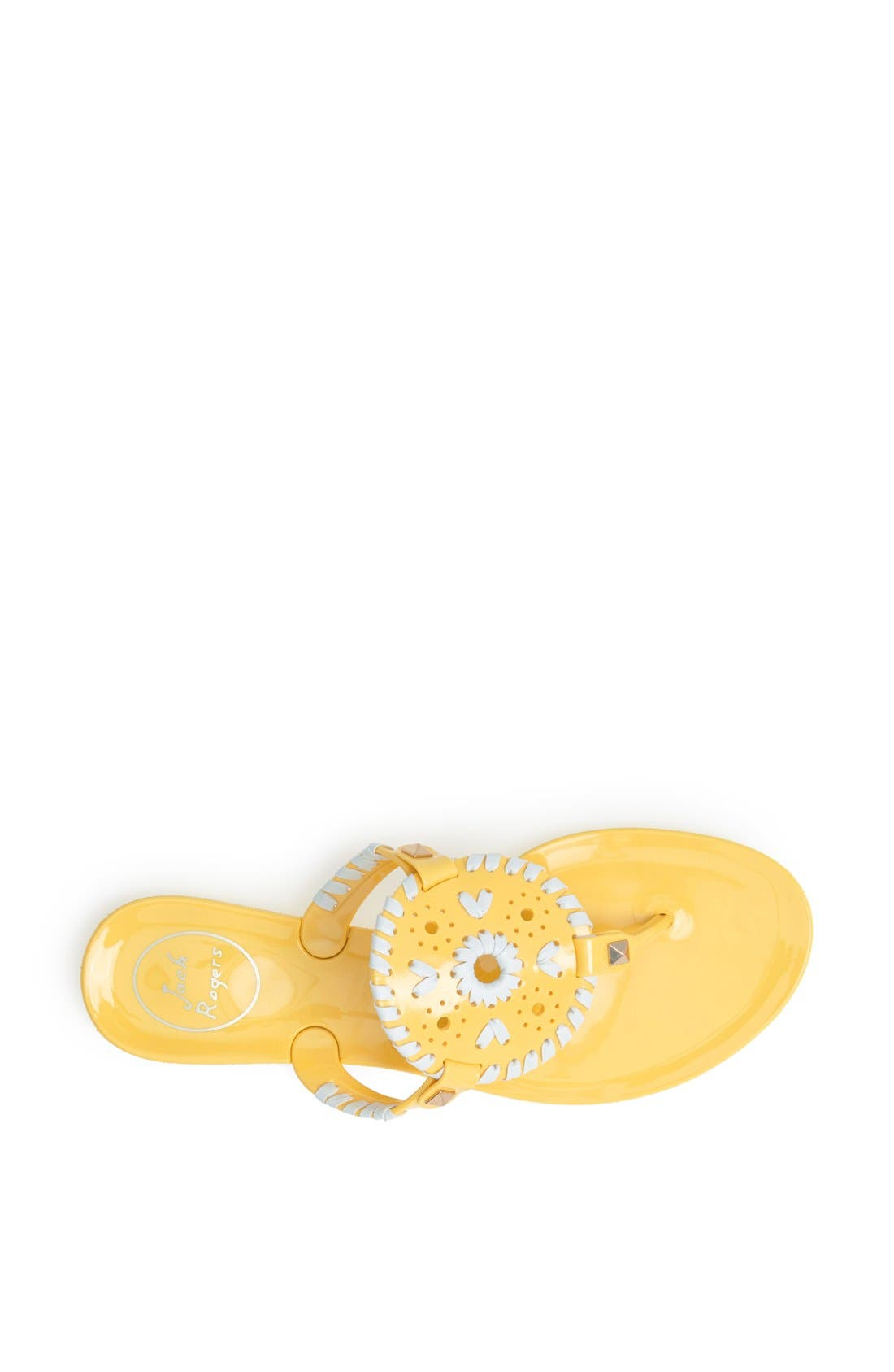 'Georgica' Jelly Flip Flop,                             Alternate thumbnail 120, color,