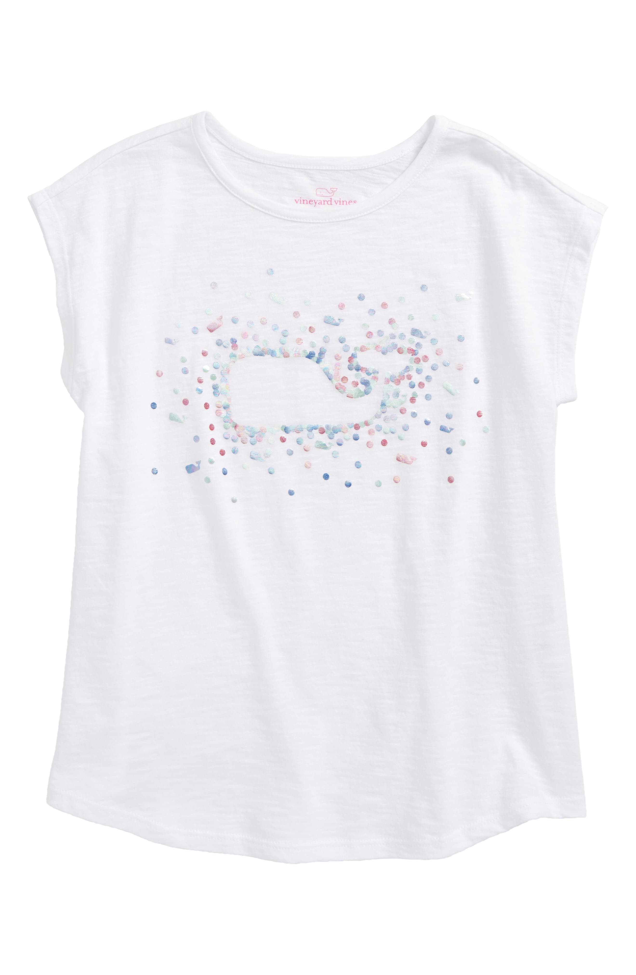 Foil Whale Swing Tee,                         Main,                         color, 100