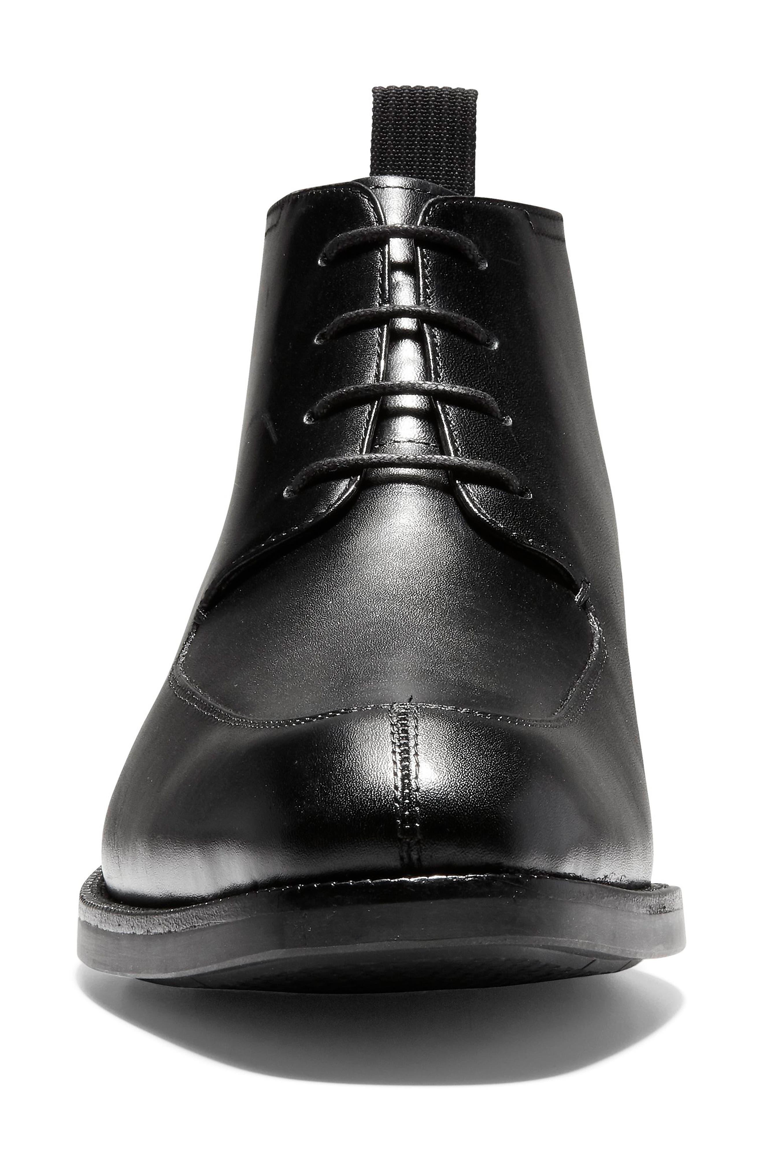 Wagner Grand Split Toe Boot,                             Alternate thumbnail 4, color,                             001