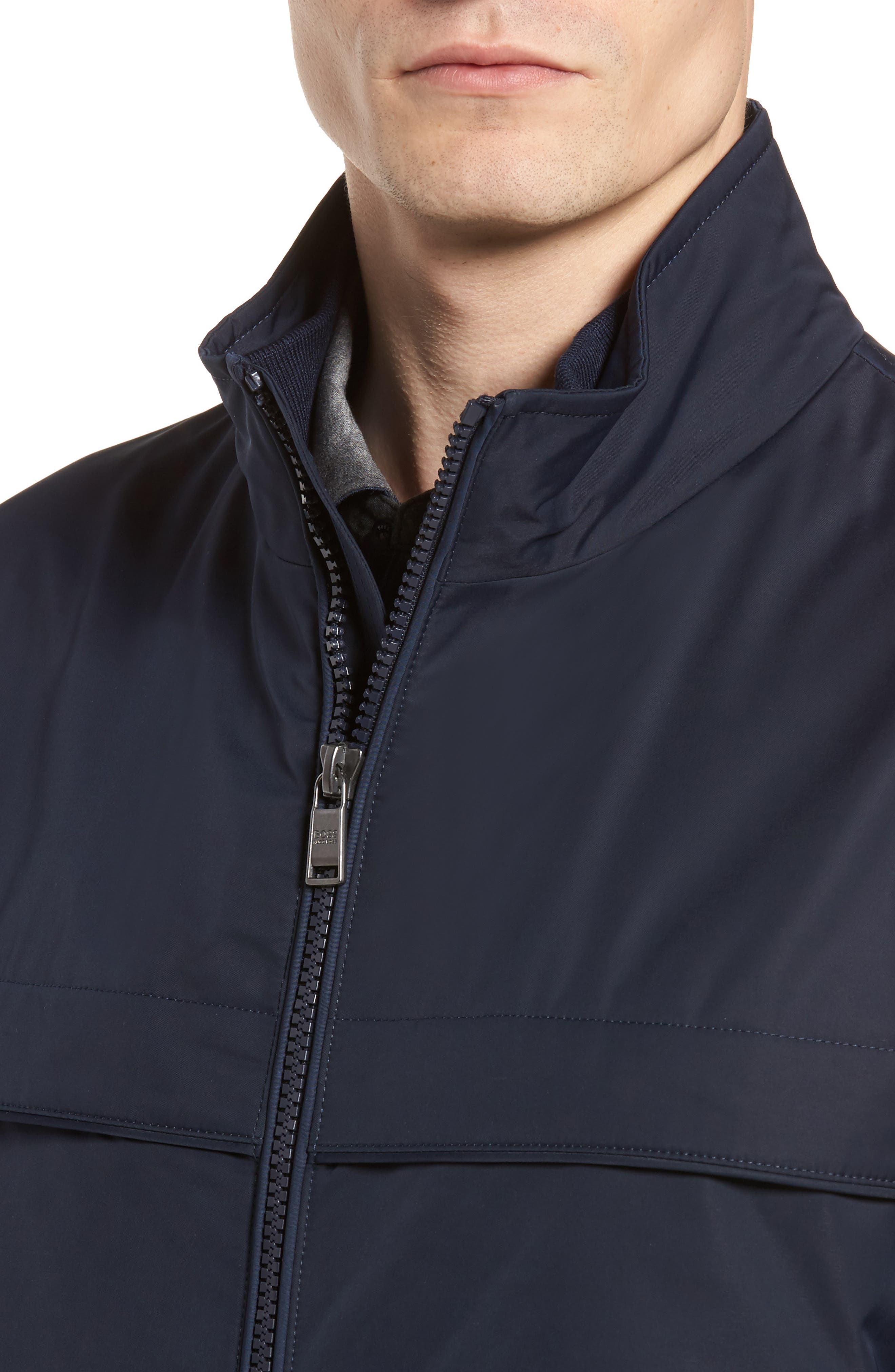 Cossito Regular Fit Bomber Jacket,                             Alternate thumbnail 4, color,                             410