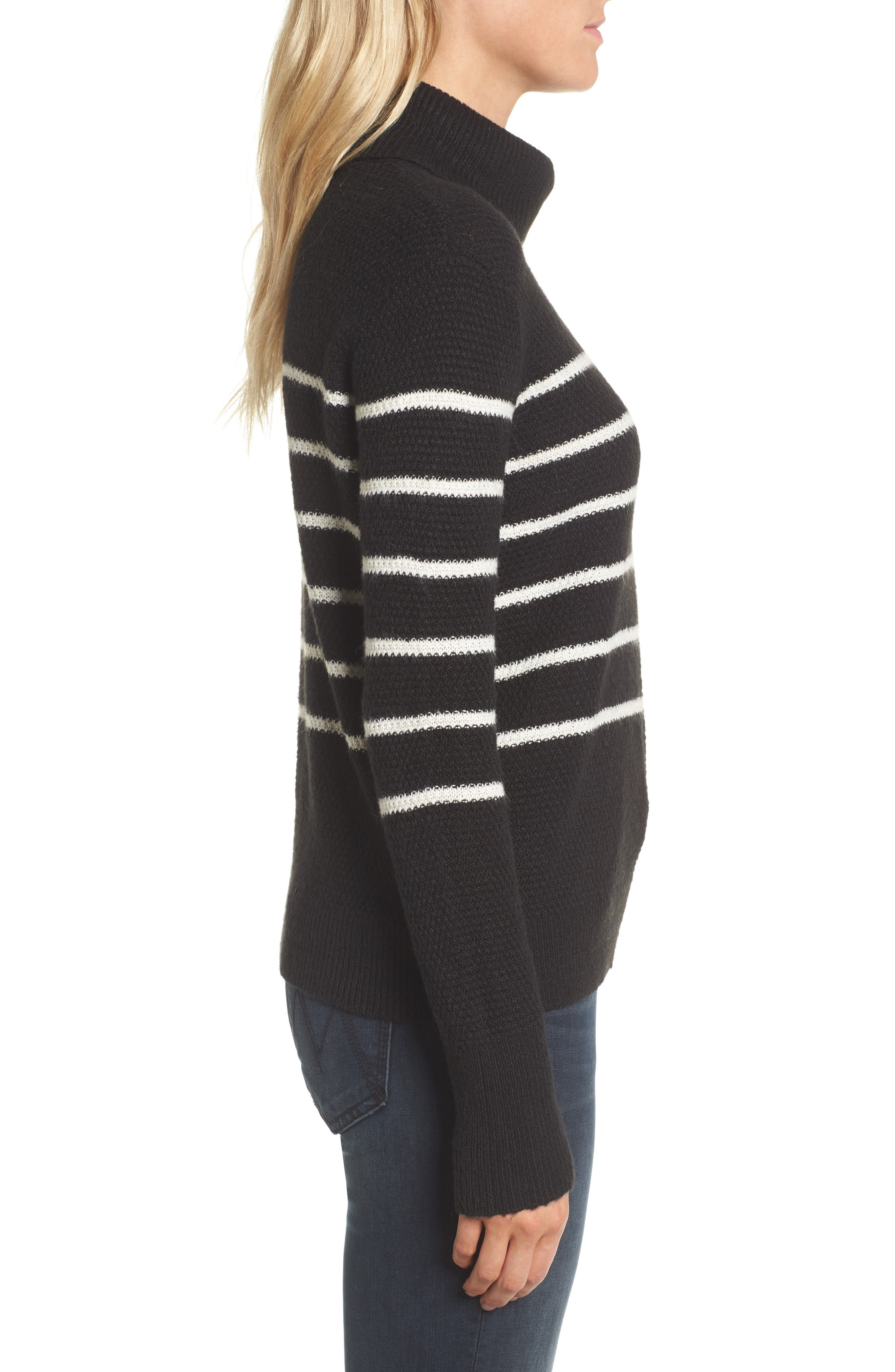 Renny Turtleneck Sweater,                             Alternate thumbnail 5, color,