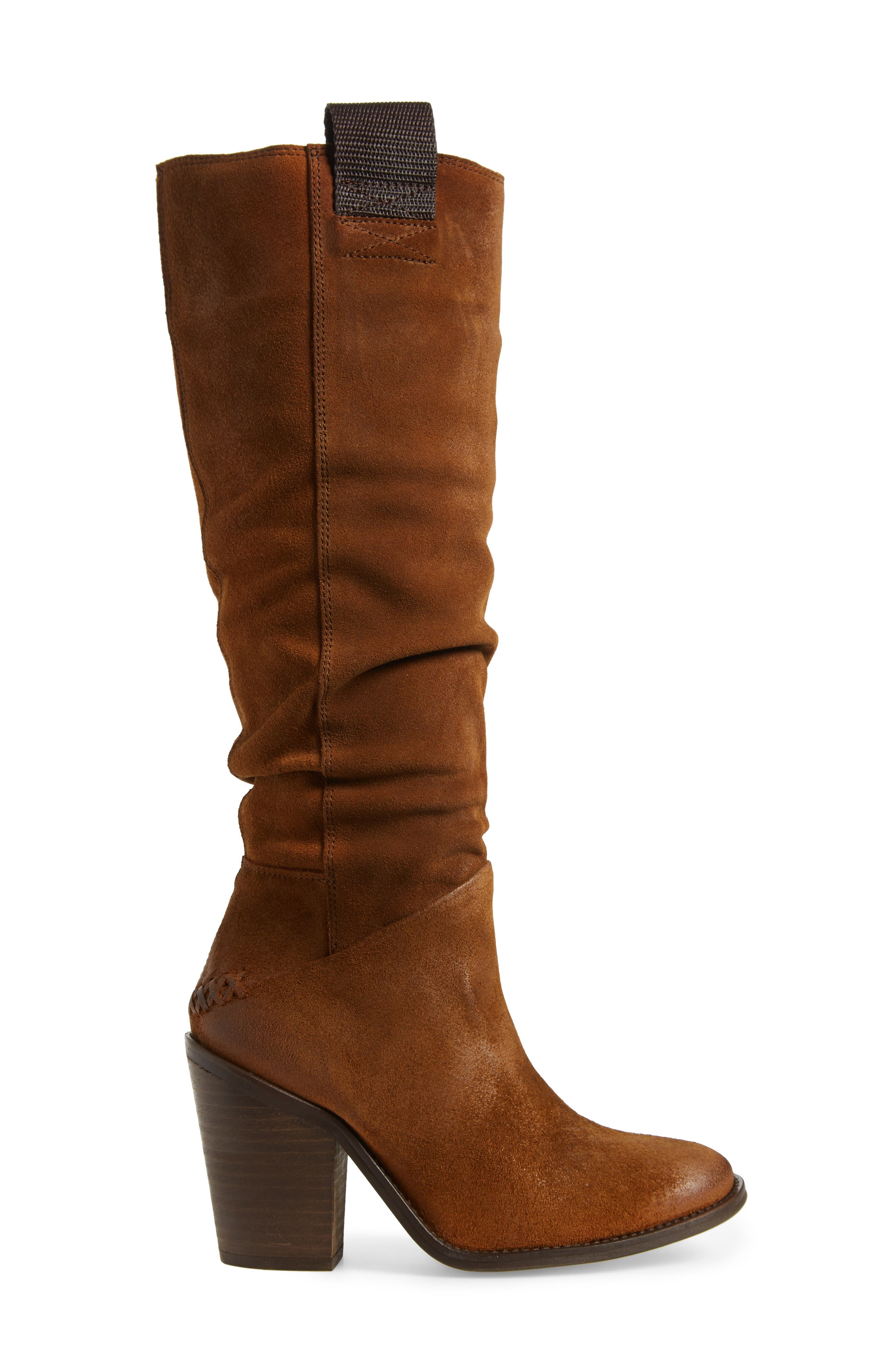 FREE PEOPLE,                             Montgomery Knee High Boot,                             Alternate thumbnail 3, color,                             200