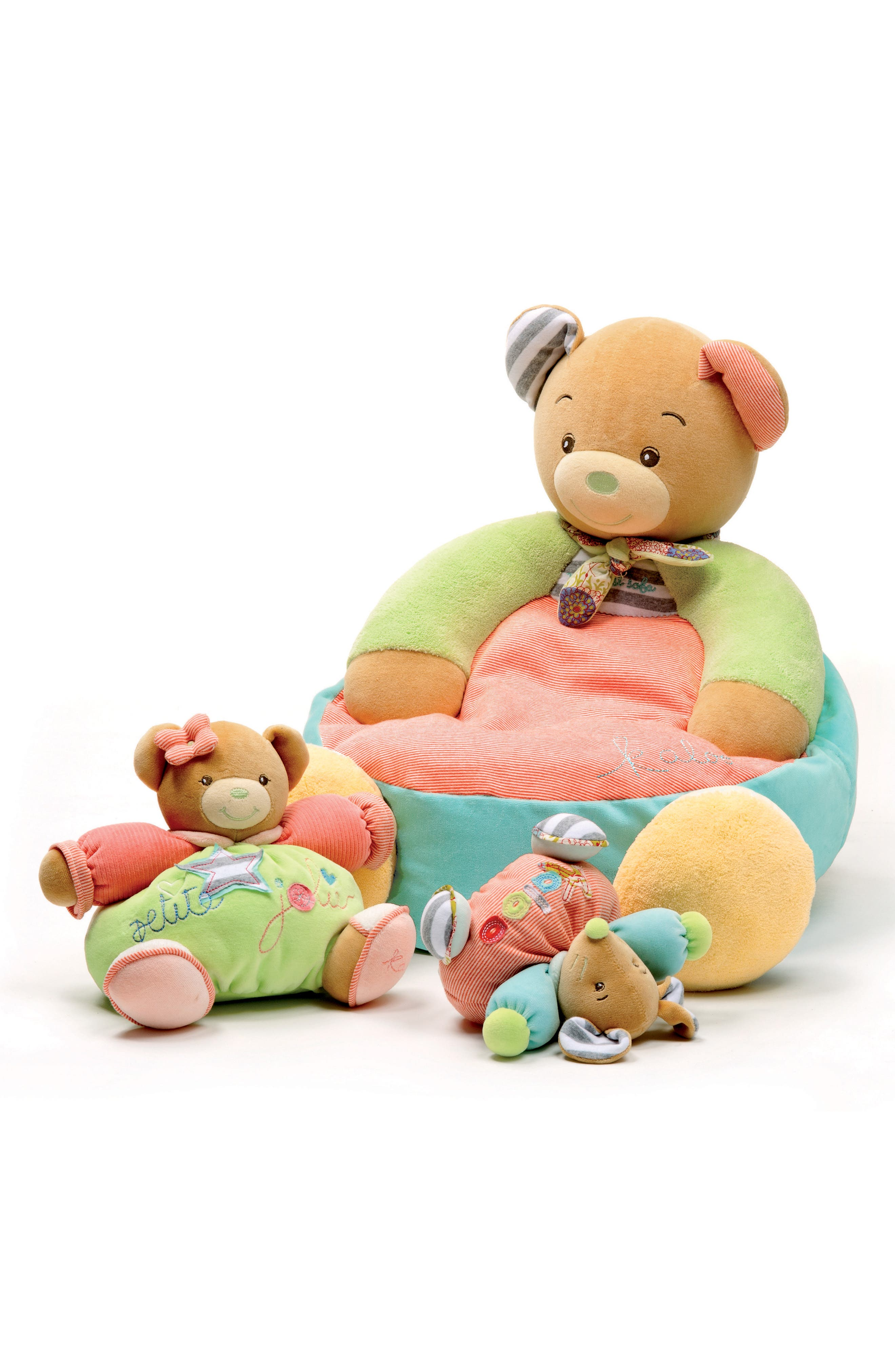 Bliss Bear Stuffed Animal,                             Main thumbnail 1, color,                             MULTI