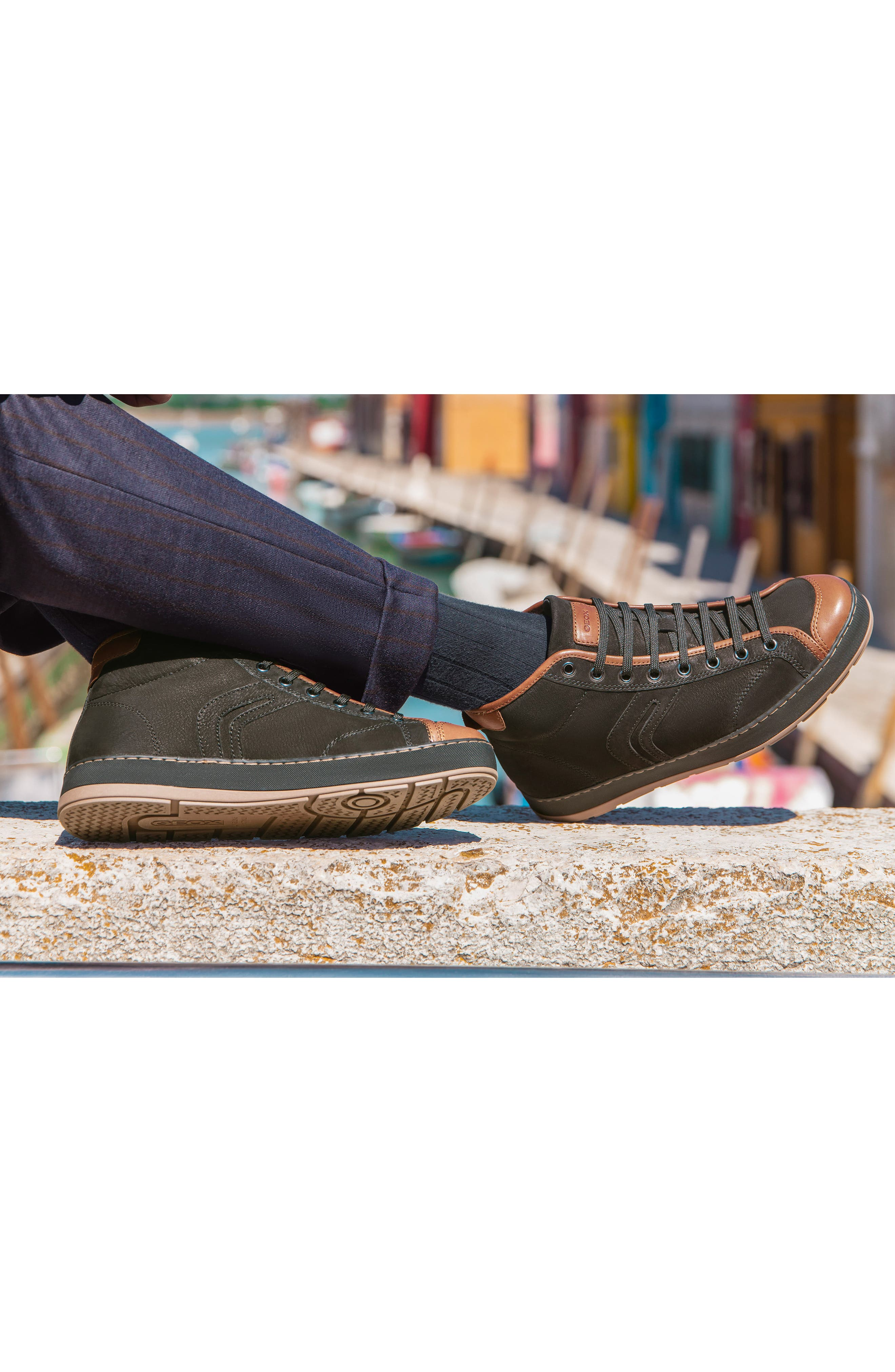 Ariam High Top Sneaker,                             Alternate thumbnail 7, color,                             203