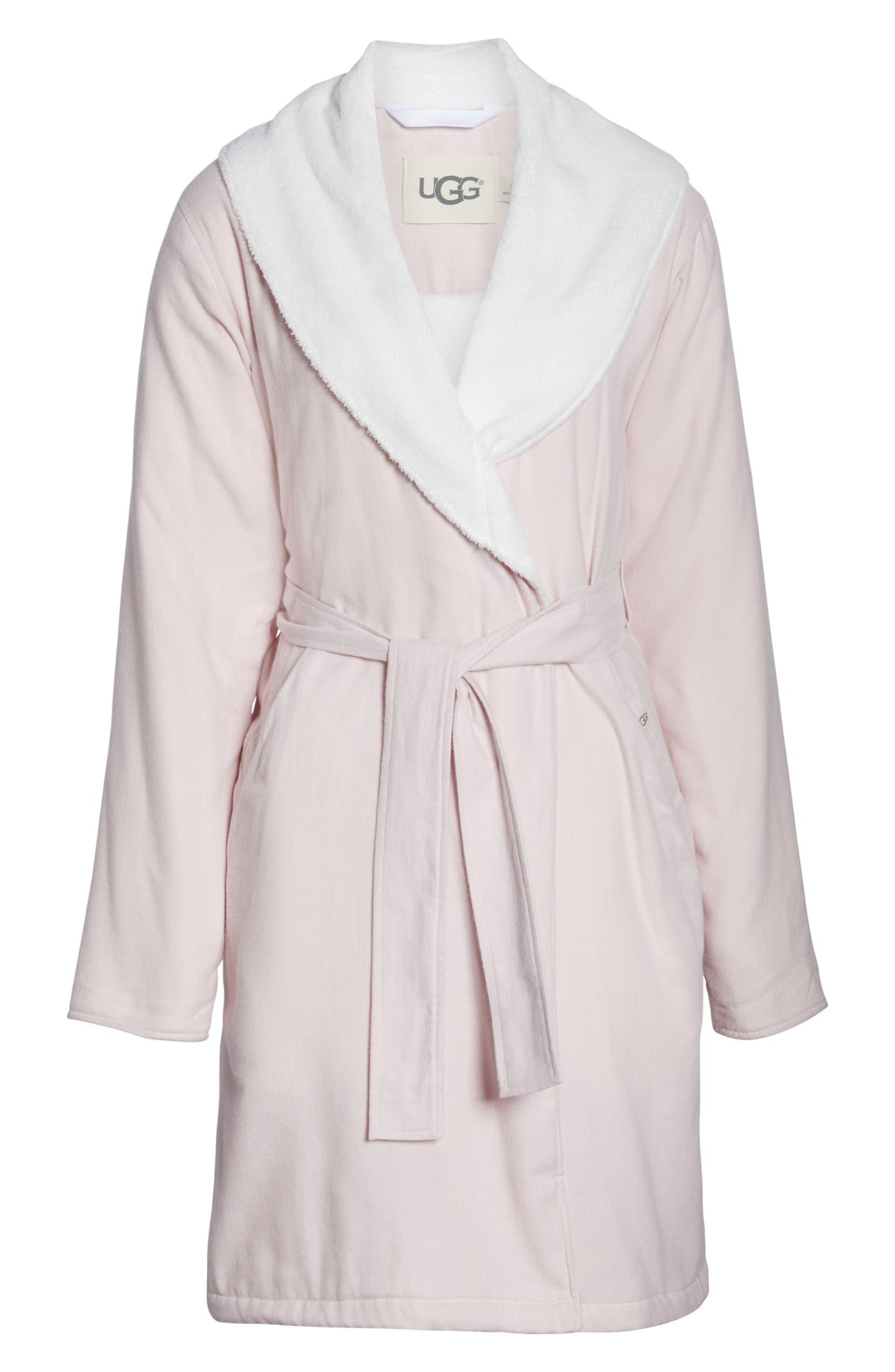 c7b4b0a122 UGG® Anika Herringbone Fleece Robe