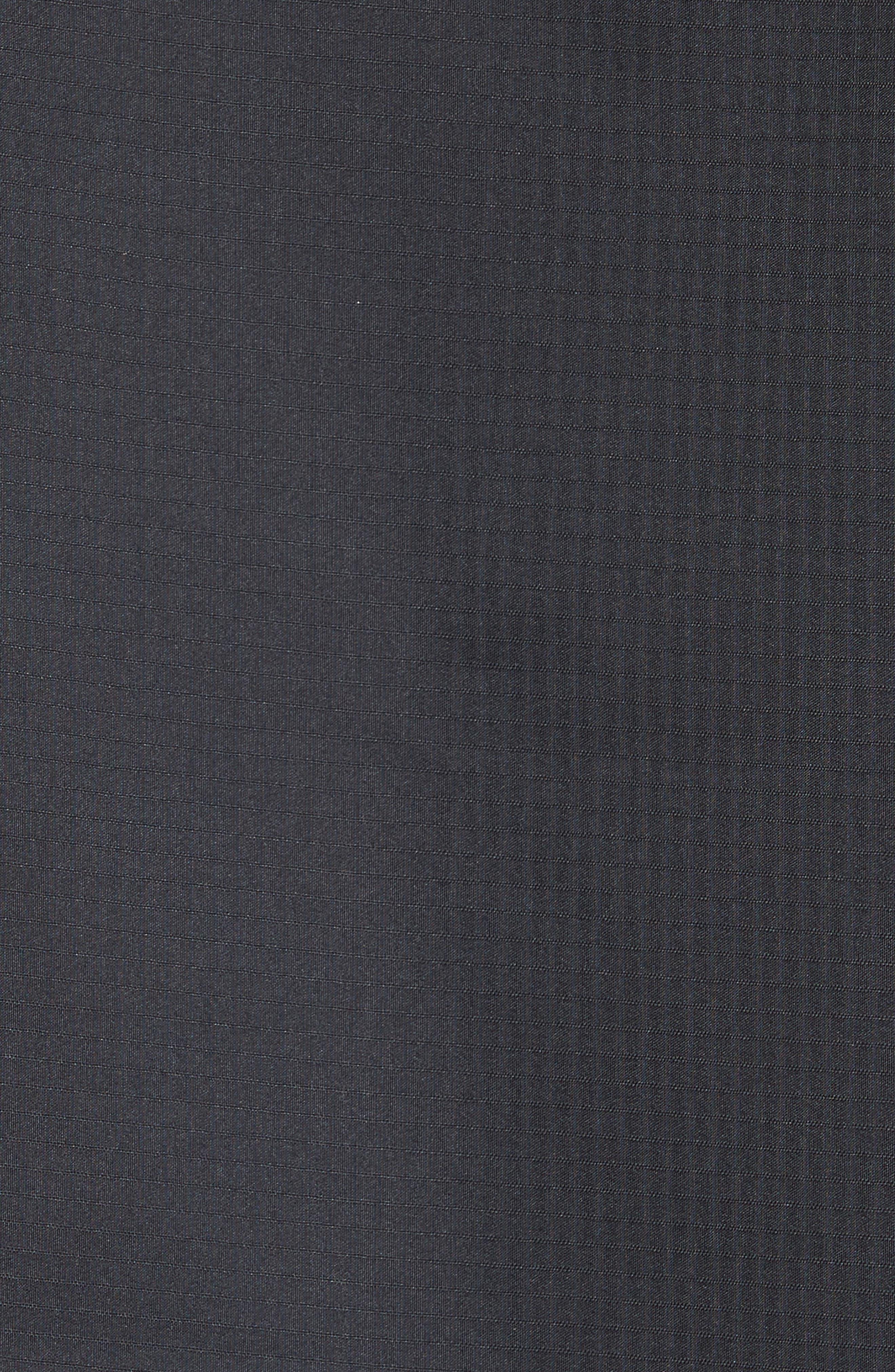 Kendrick Slim Fit Mixed Media Jacket,                             Alternate thumbnail 6, color,                             010