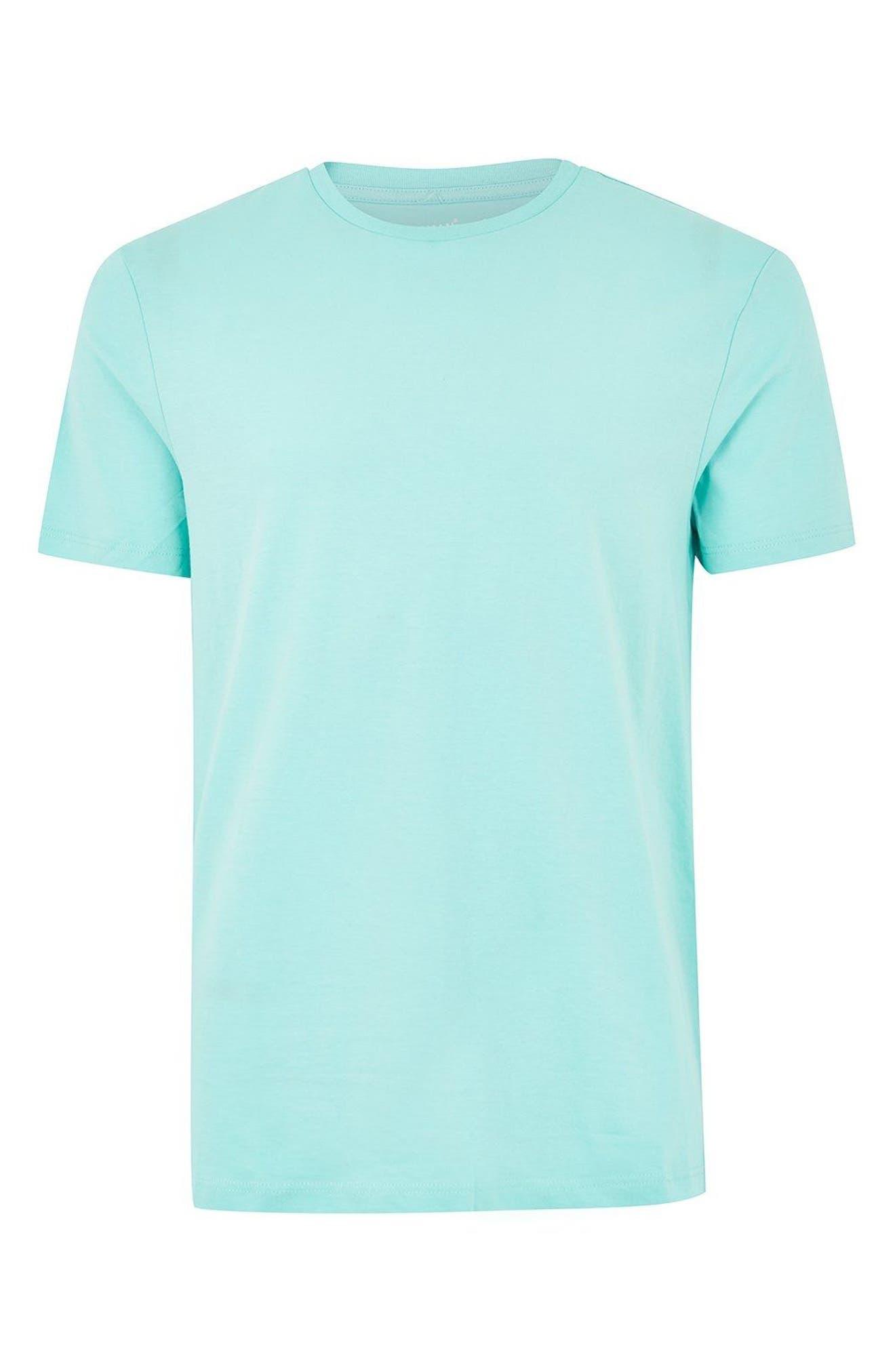 Slim Fit Crewneck T-Shirt,                             Alternate thumbnail 297, color,