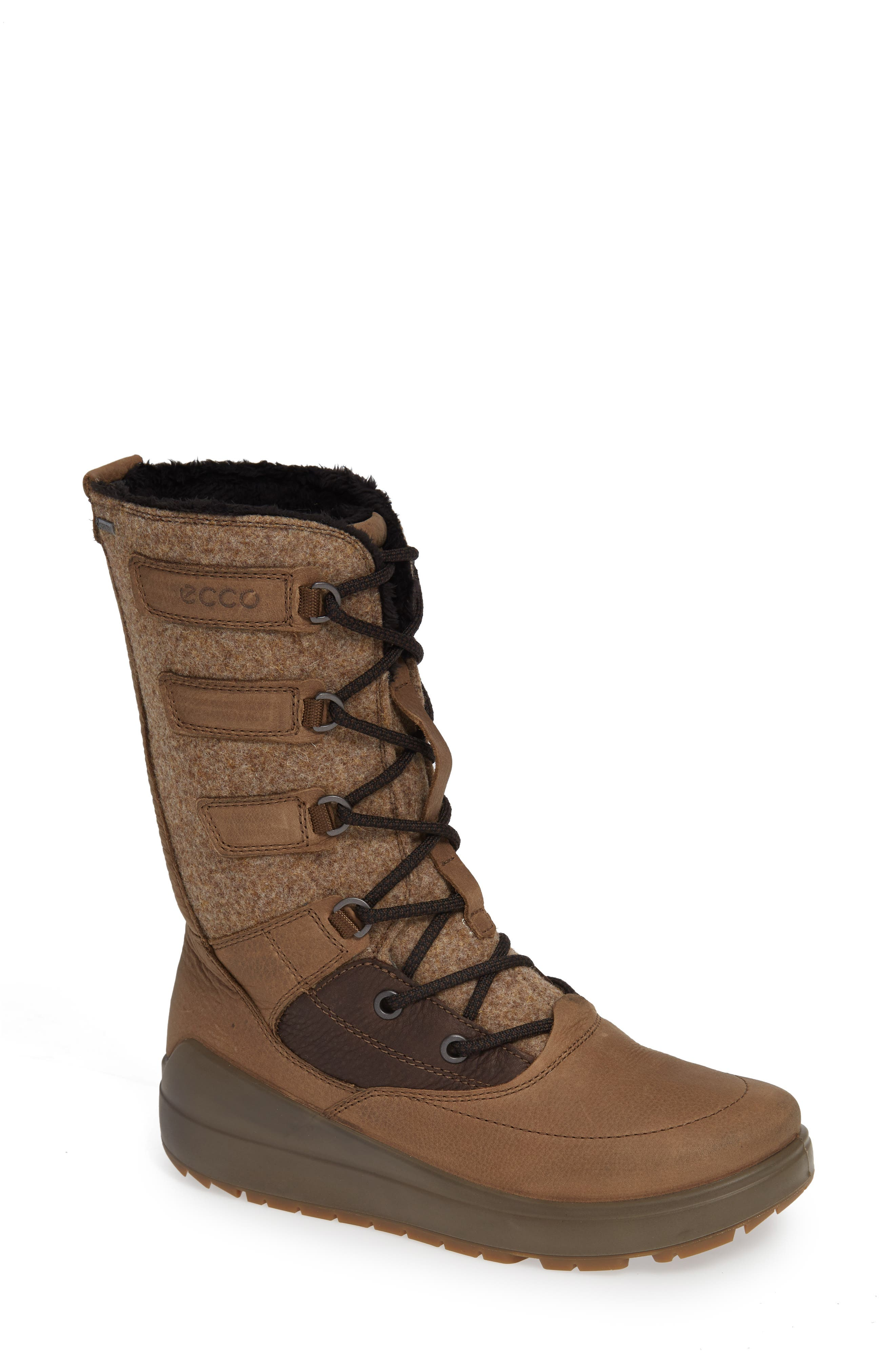 Ecco Noyce Waterproof Boot, Brown